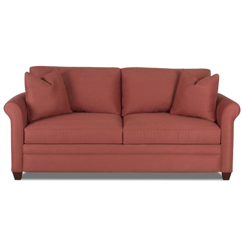 Klaussner Dopler Sofa with Rolled Arms EFO Furniture