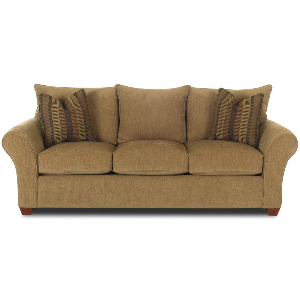 Fletcher comfortable stationary couch by klaussner wolf for Klaussner sofa