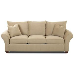 Elliston Place Fletcher Spacious Sectional With Chaise