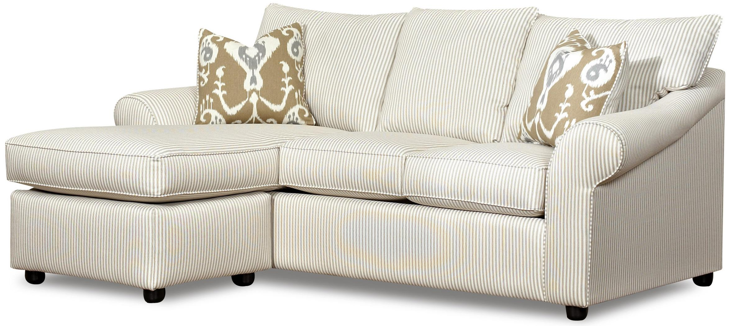 Elliston place folio sofa with reversible chaise lounge for Chaise 2 places