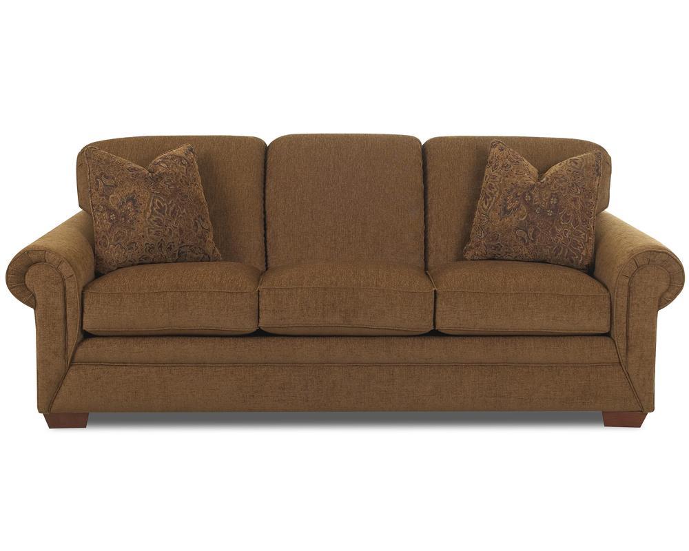 Klaussner fusion k60000 s 3 cushion sofa dunk bright for Klaussner sofa