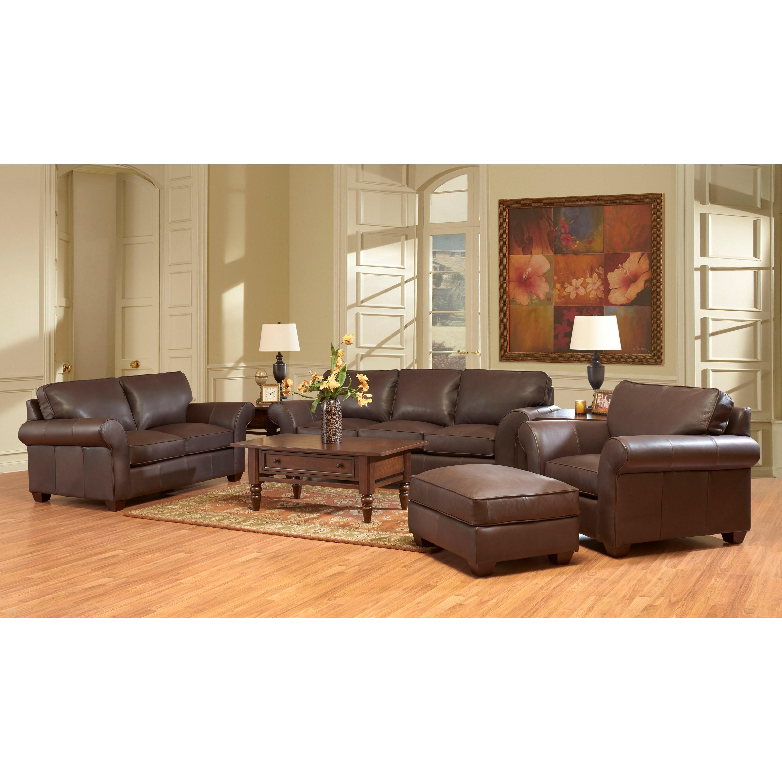 Klaussner Heathmont Living Room Group Dunk Bright Furniture Station