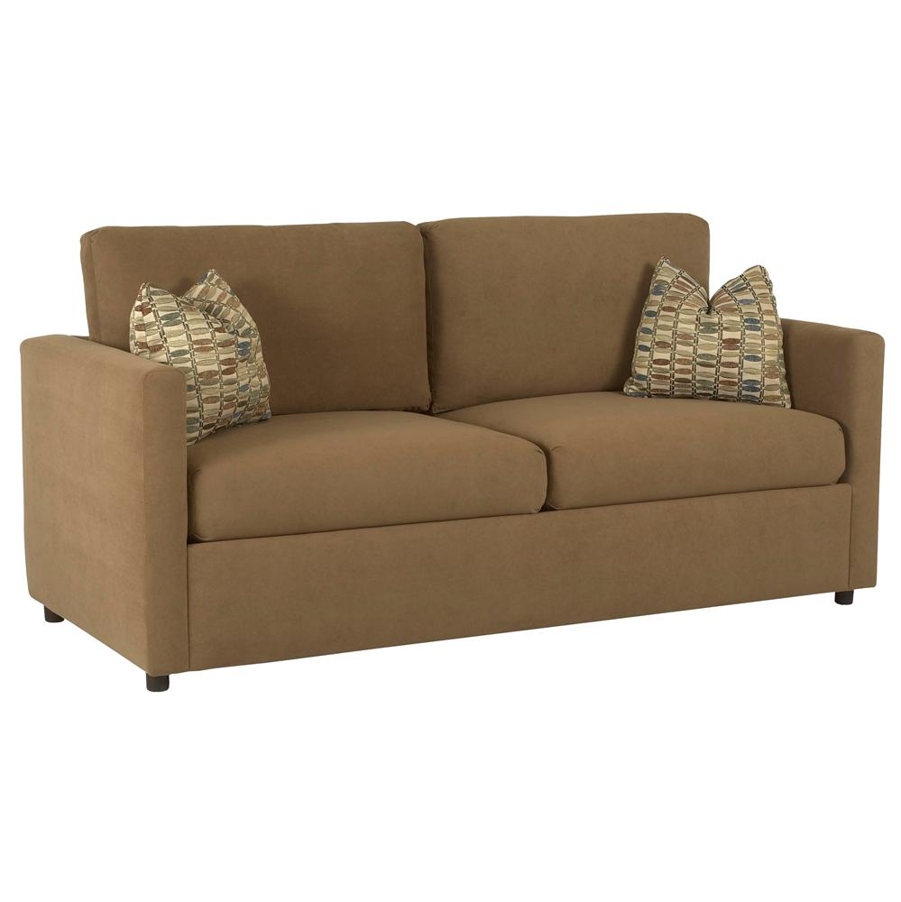 Jacobs casual queen sleeper sofa by klaussner wolf furniture for Casual couch