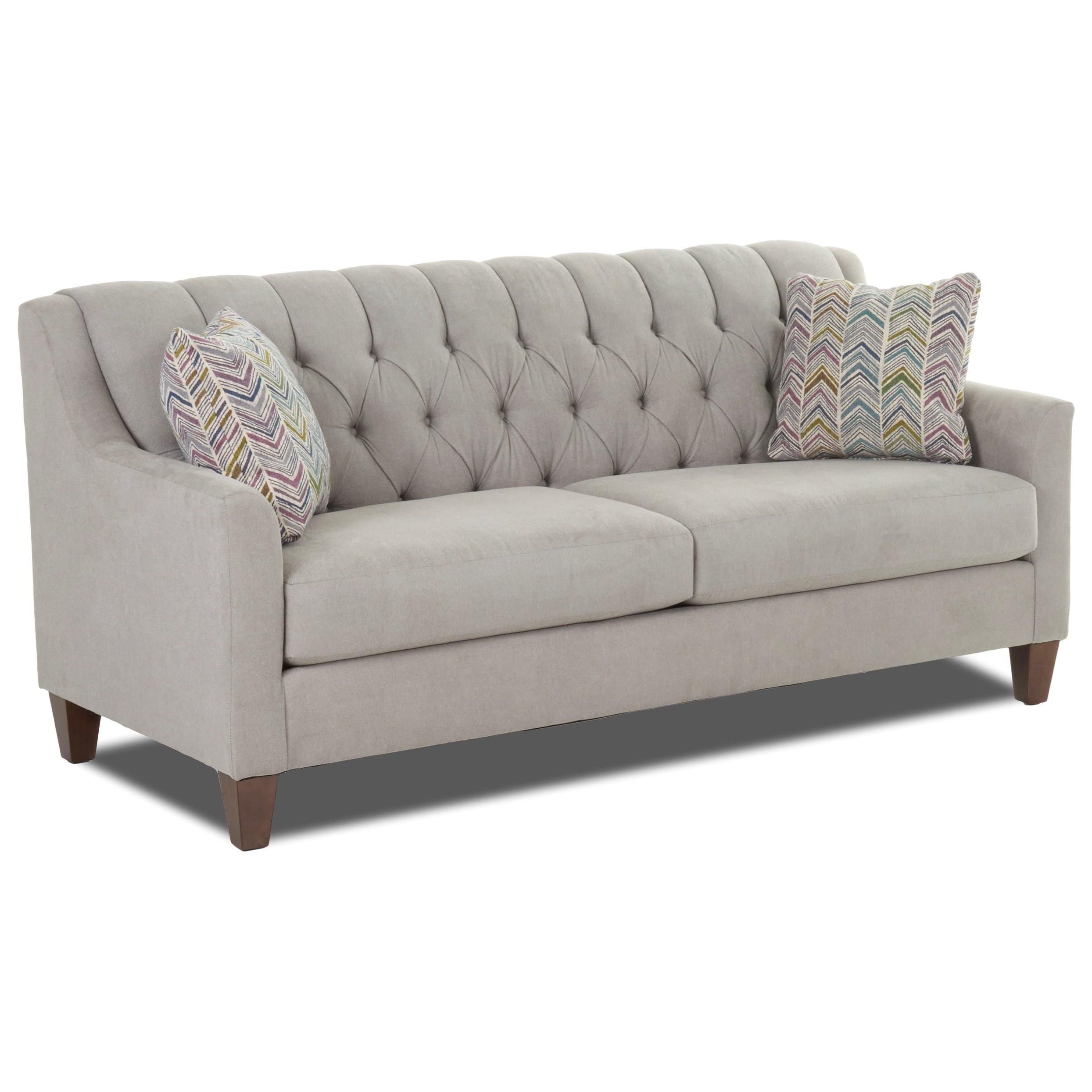 Klaussner Laguna K29500 S Apartment Size Tufted Sofa