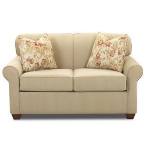 Klaussner Mayhew Oversized Twin Sleeper Chair Colder S
