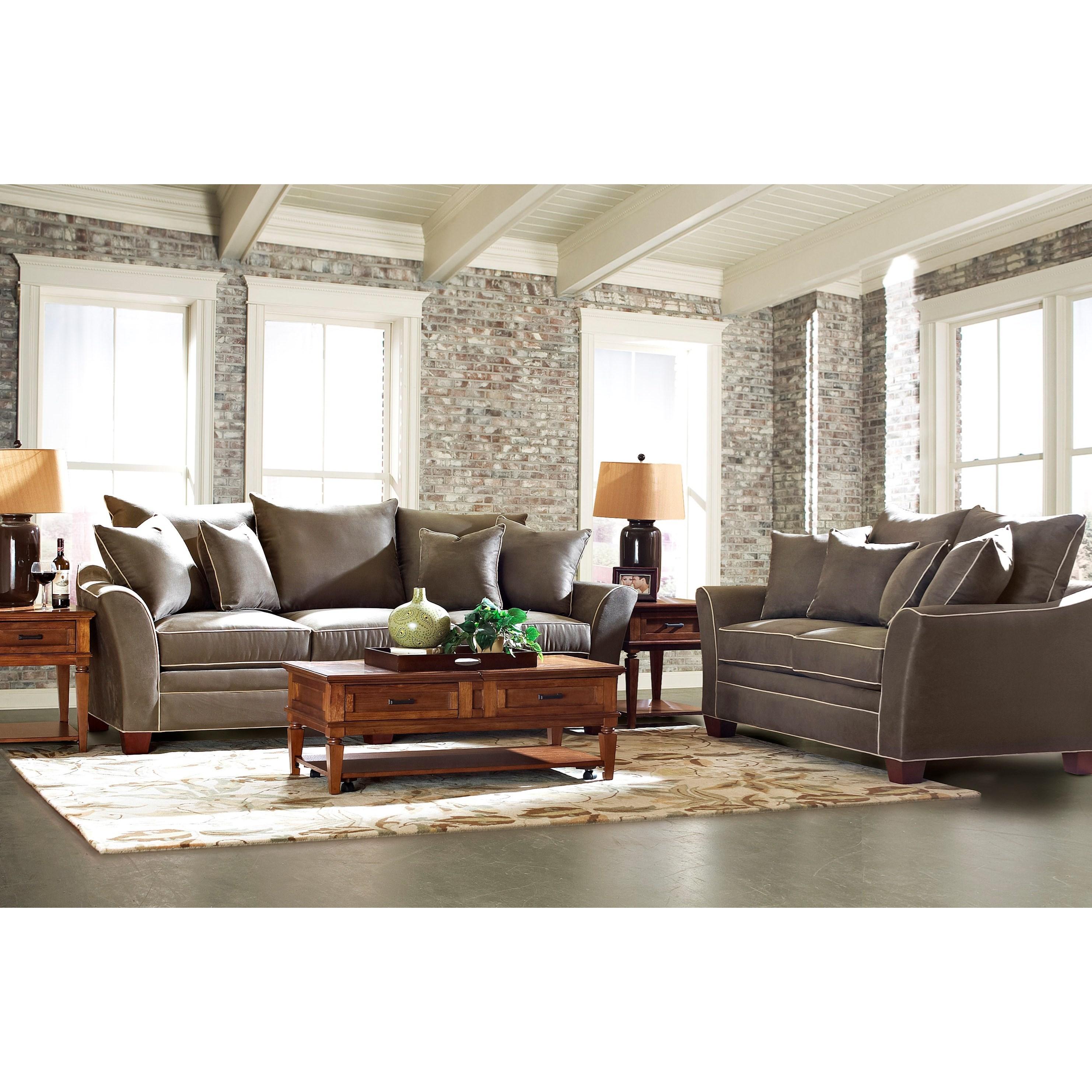 klaussner sadie living room group efo furniture outlet On efo furniture outlet