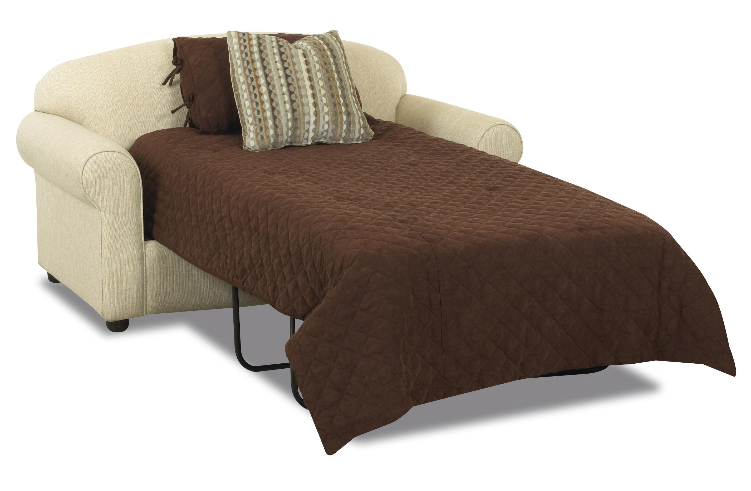 Klaussner possibilities 500 itsl innerspring twin sleeper for Twin sofa bed