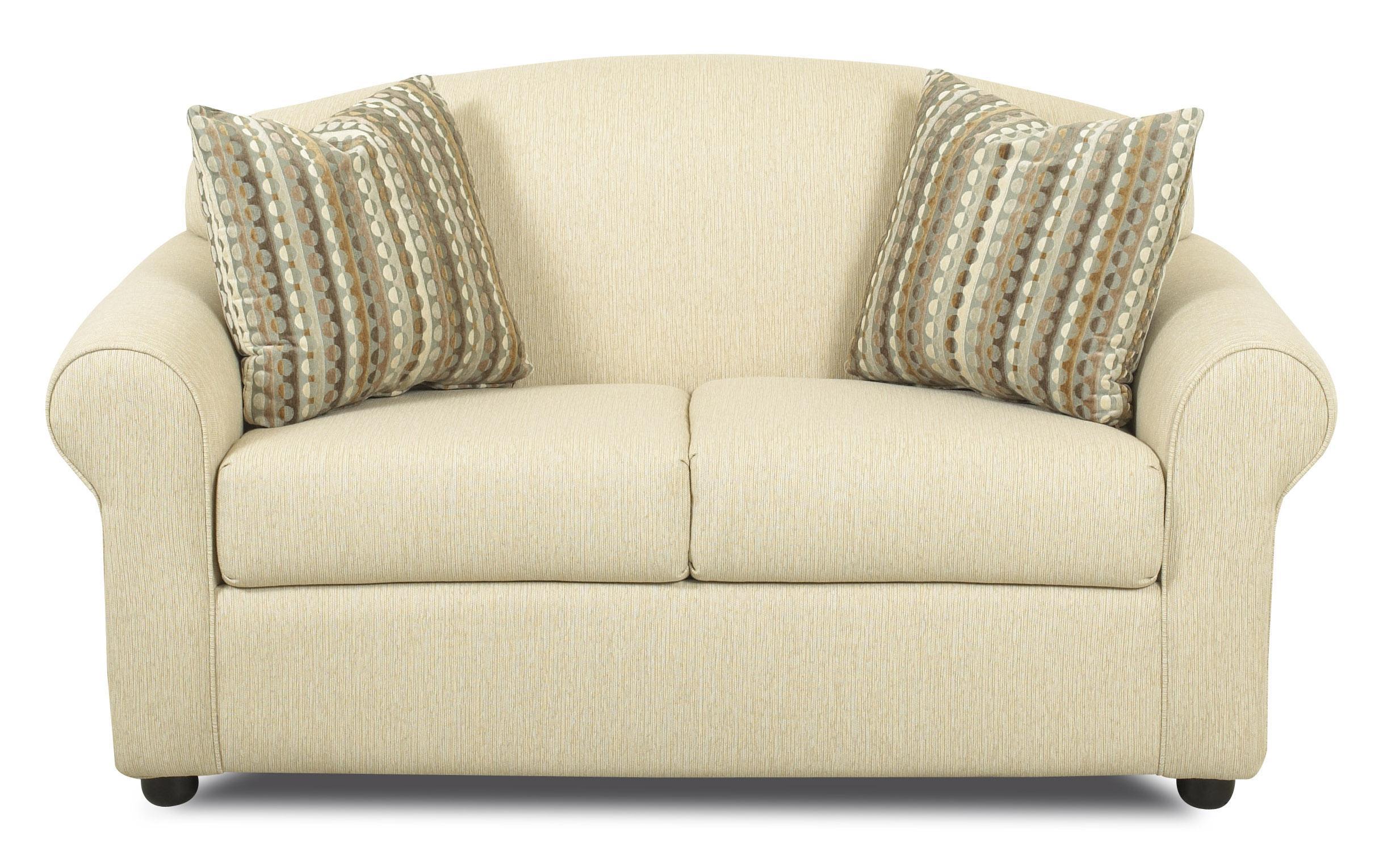 klaussner possibilities 500 itsl innerspring twin sleeper loveseat dunk bright furniture. Black Bedroom Furniture Sets. Home Design Ideas