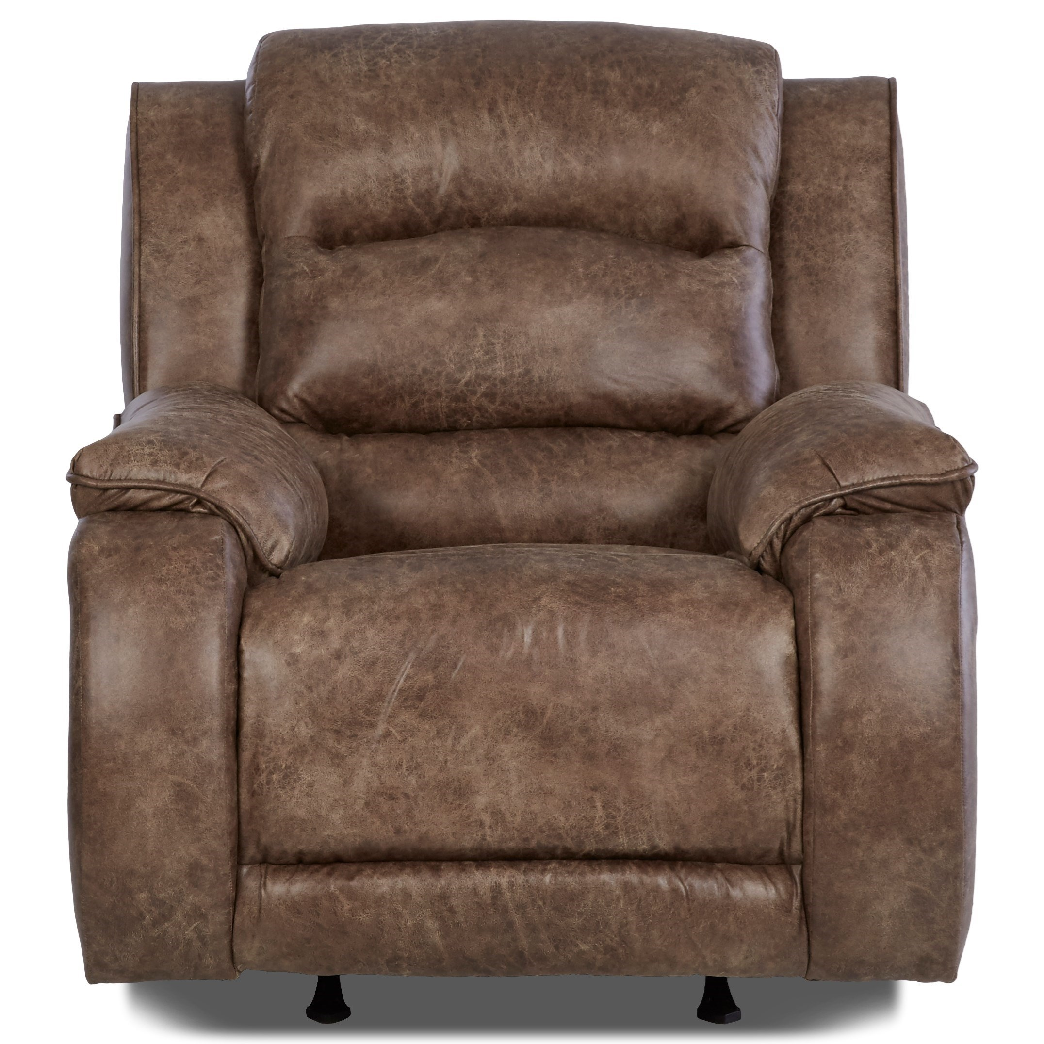 Klaussner Reuben Power Recliner With Power Headrest And