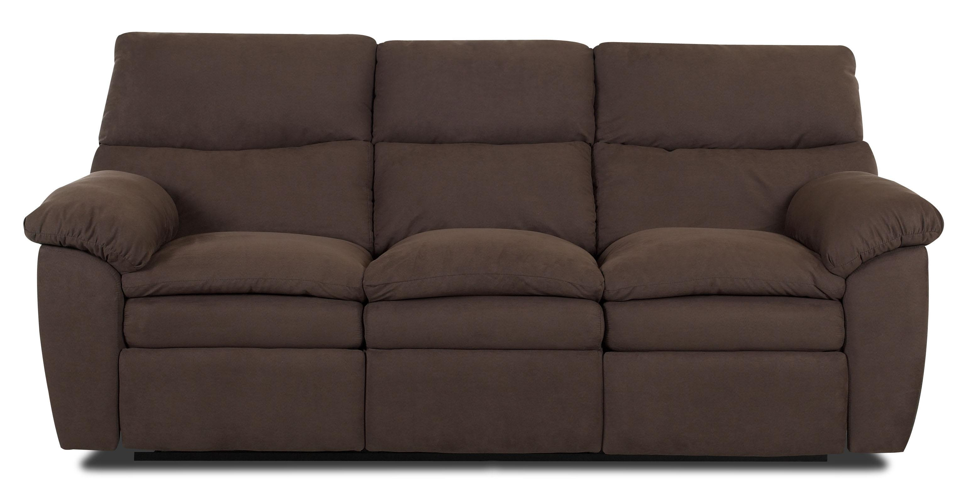 Sanders contemporary upholstered reclining sofa by for Sectional sofas wolf furniture