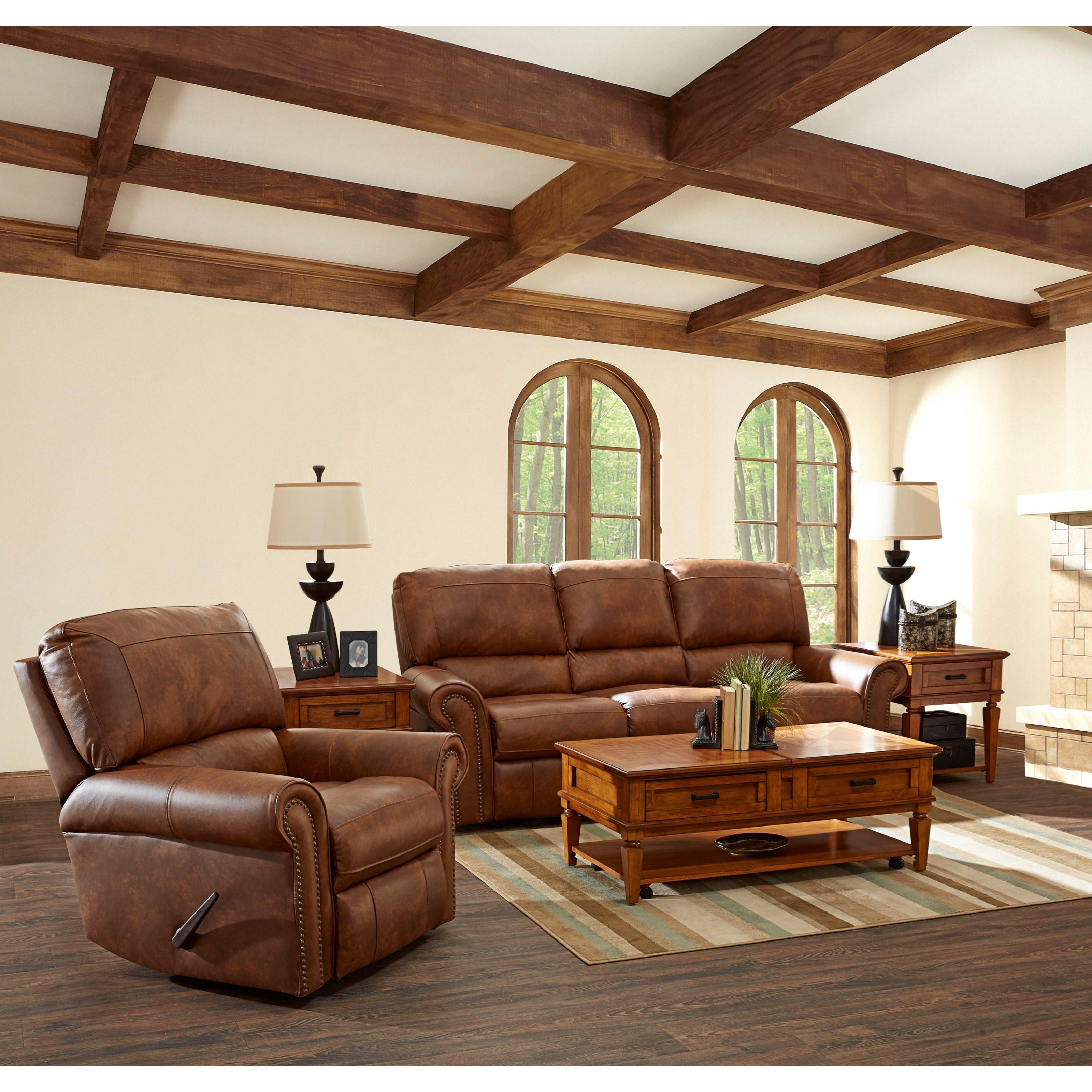 Klaussner Savannah Reclining Living Room Group Hudson 39 S Furniture Reclining Living Room Groups
