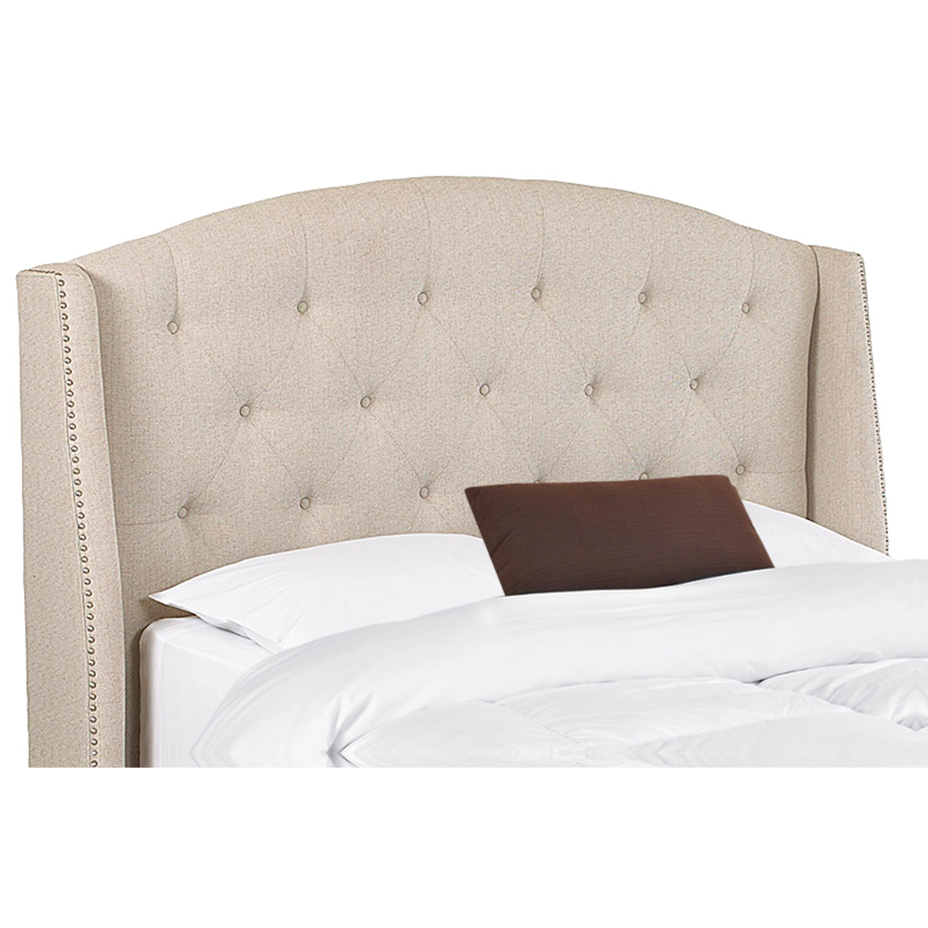 value city headboards klaussner upholstered beds and headboards harvard king 13709