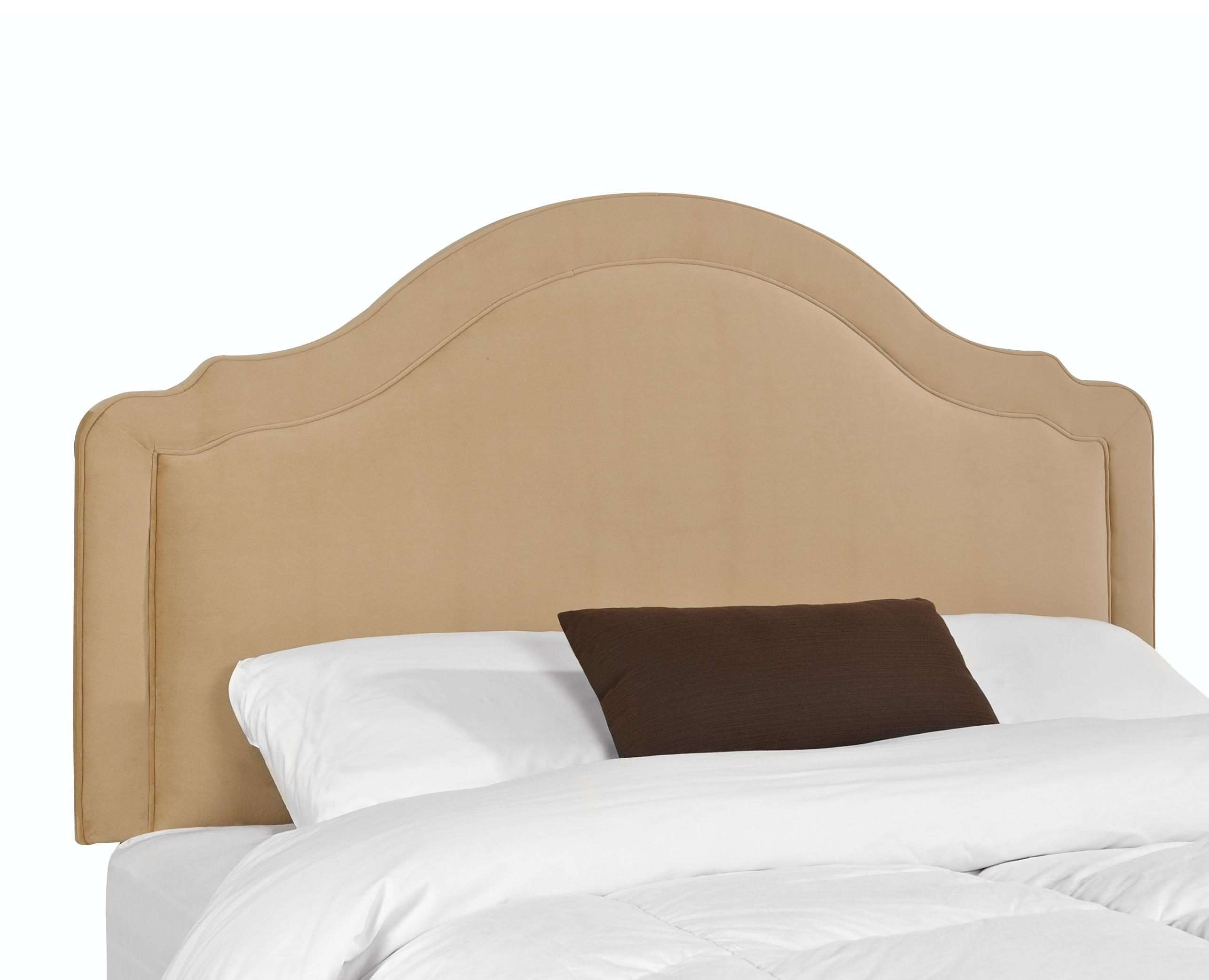 Upholstered Beds And Headboards Rabin Twin Headboard With Arched Top By Klaussner Wolf Furniture