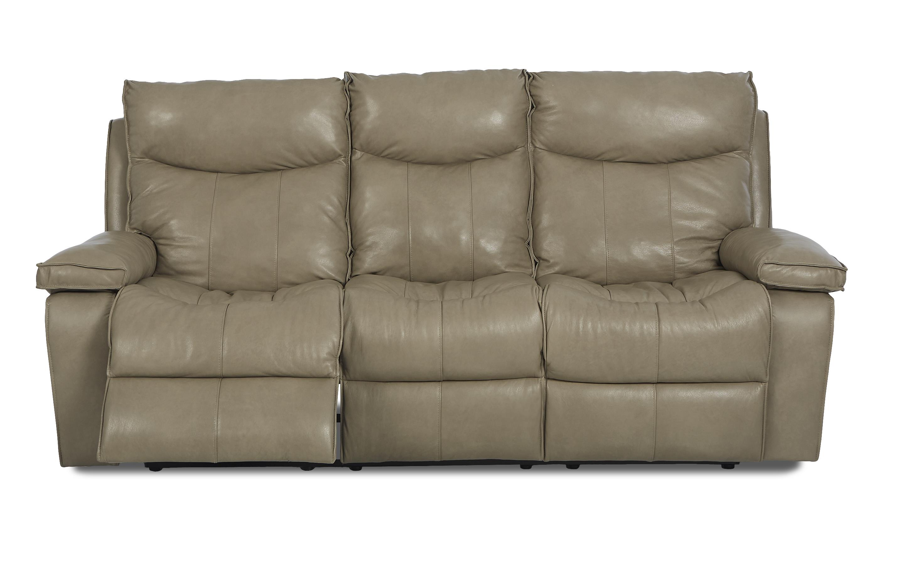 wilson contemporary reclining sofa by klaussner wolf furniture