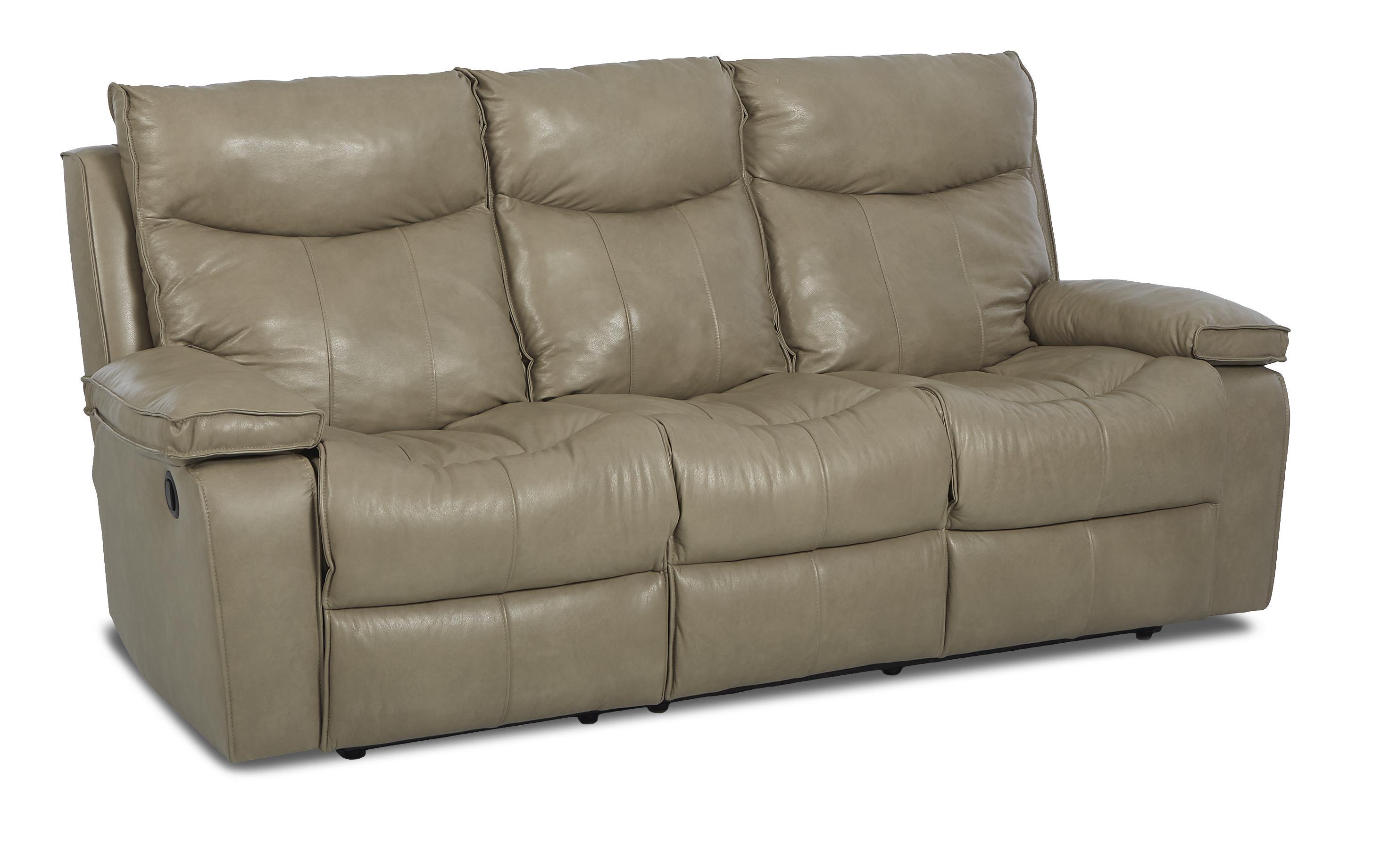 Wilson contemporary reclining sofa by klaussner wolf for Contemporary reclining sofas