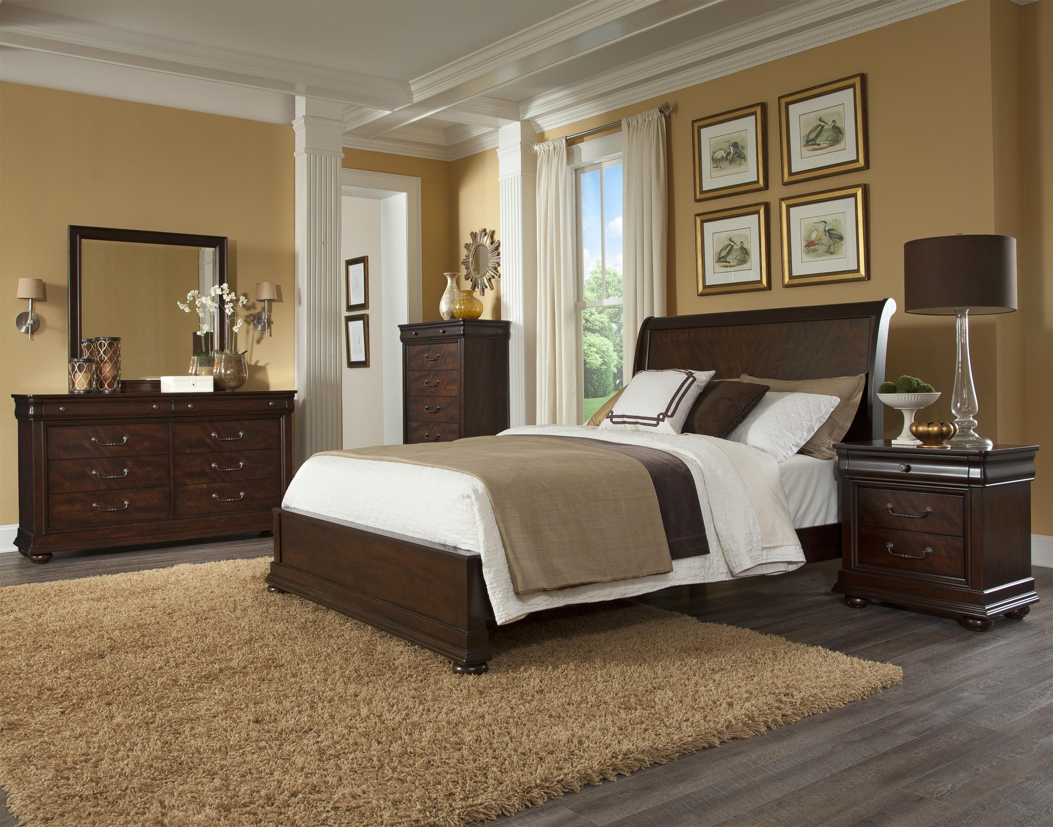 Klaussner International Parkview Queen Bedroom Group 2 Wayside Furniture Bedroom Group