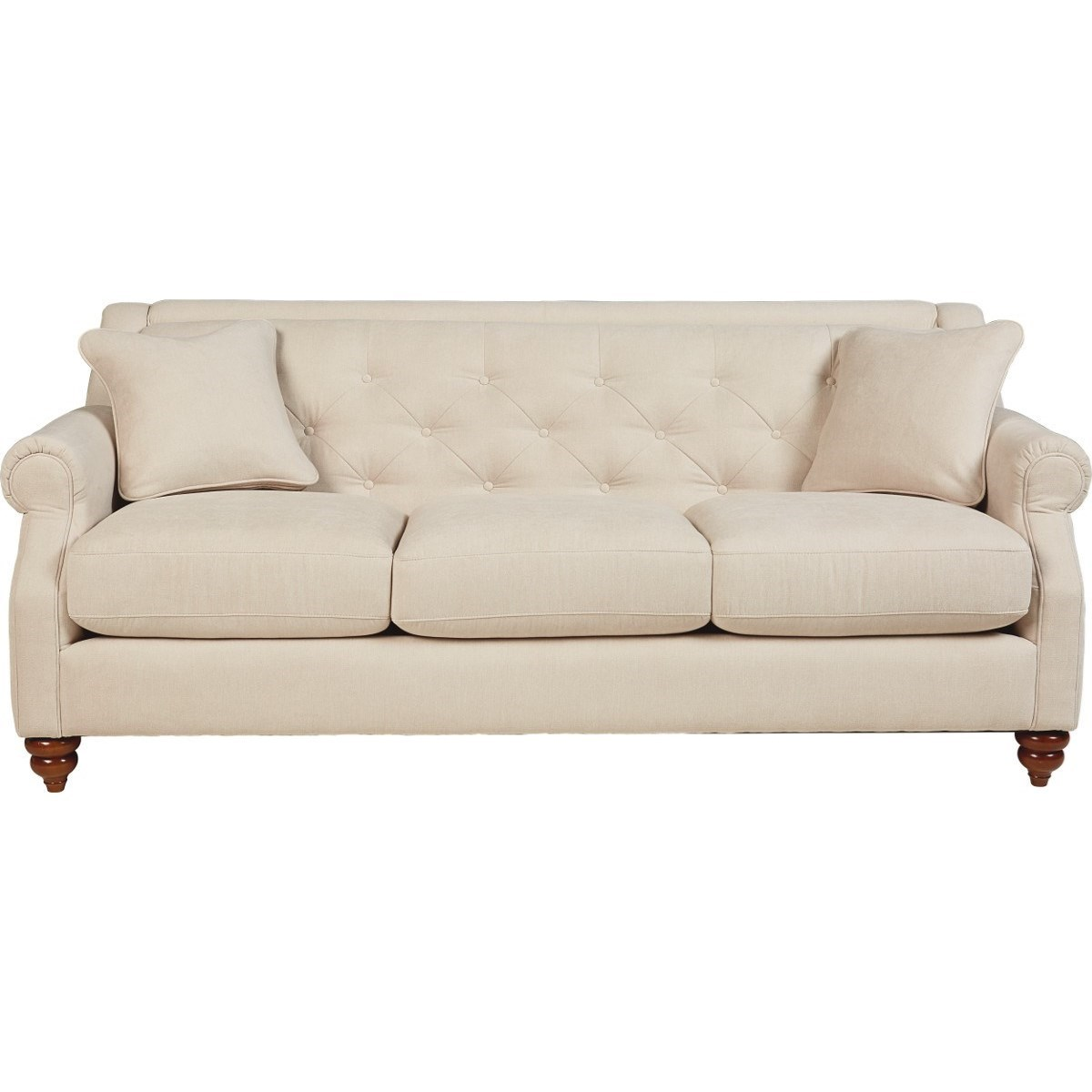 La z boy aberdeen traditional sofa with tufted seatback for Traditional sofas
