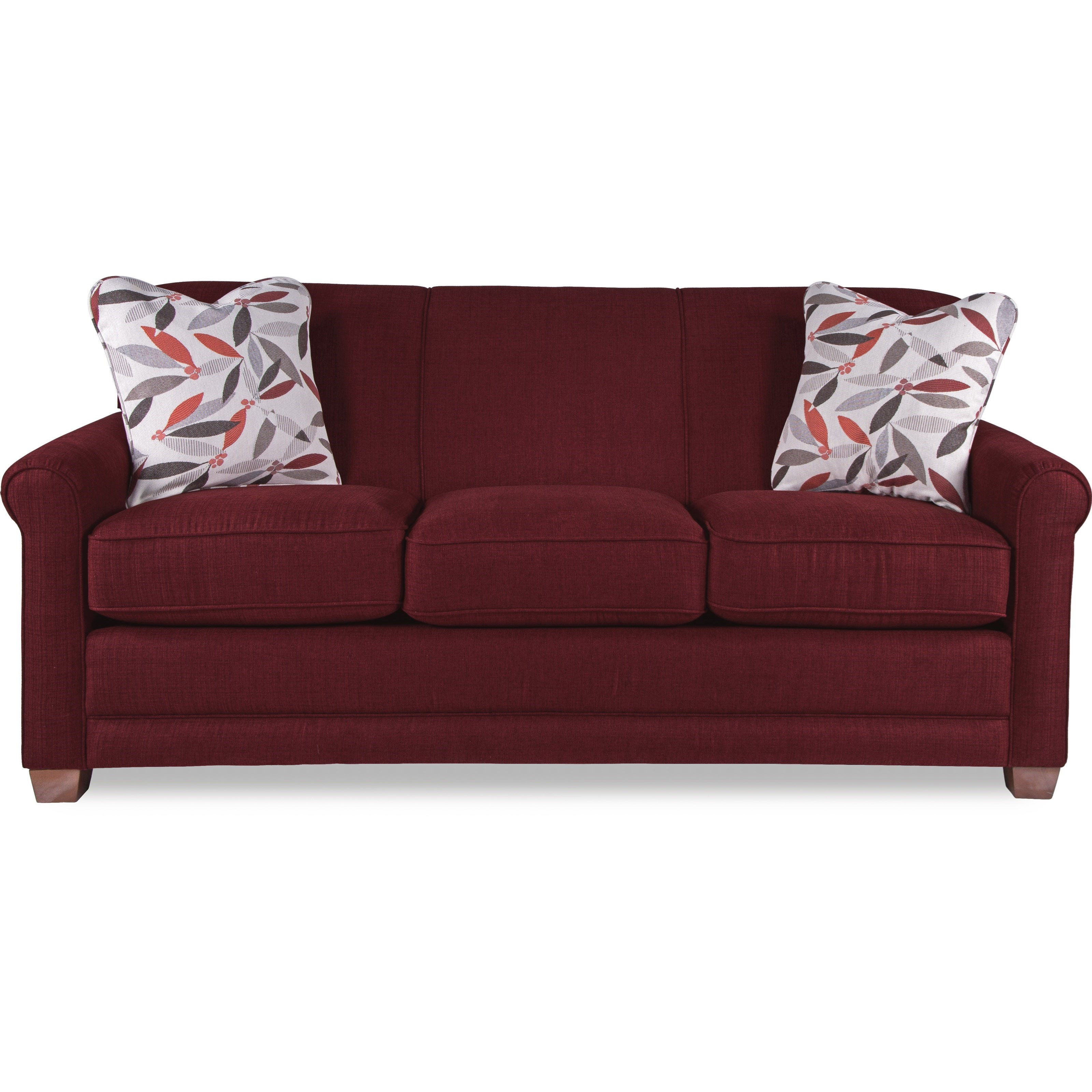 La z boy amanda casual sleeper sofa with premier for Casual couch