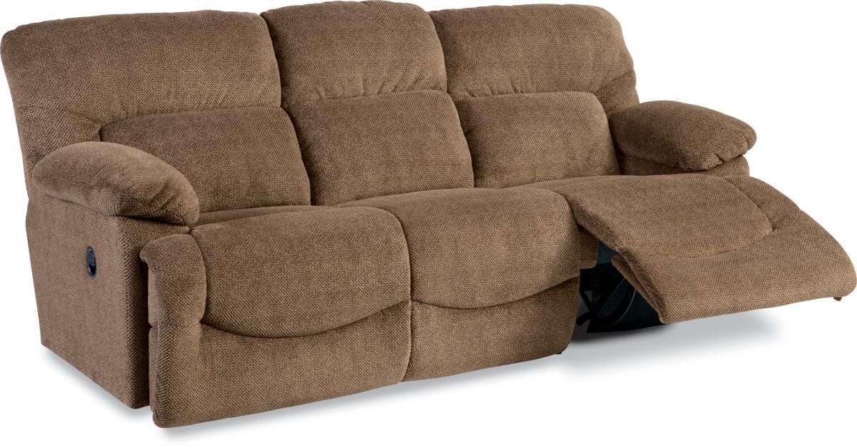 ASHER Casual La Z Time Full Reclining Power Sofa by La Z