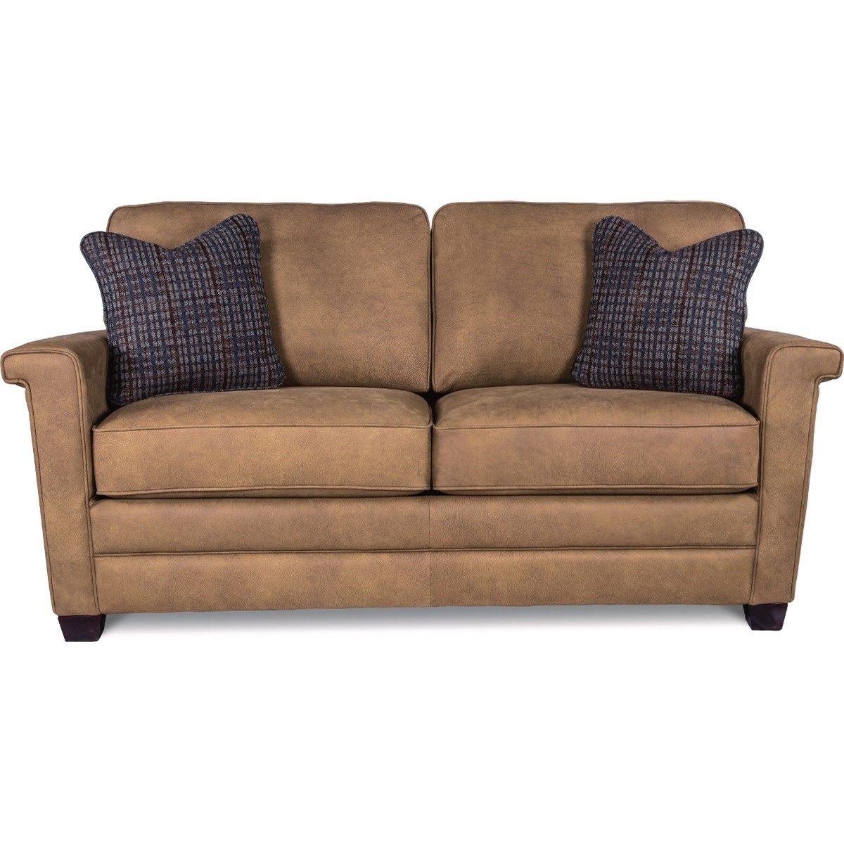 la z boy bexley contemporary apartment size sofa godby. Black Bedroom Furniture Sets. Home Design Ideas
