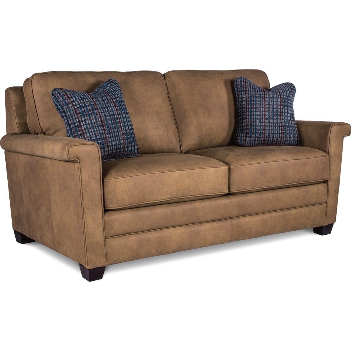 la z boy bexley contemporary apartment size sofa lindy 39 s. Black Bedroom Furniture Sets. Home Design Ideas