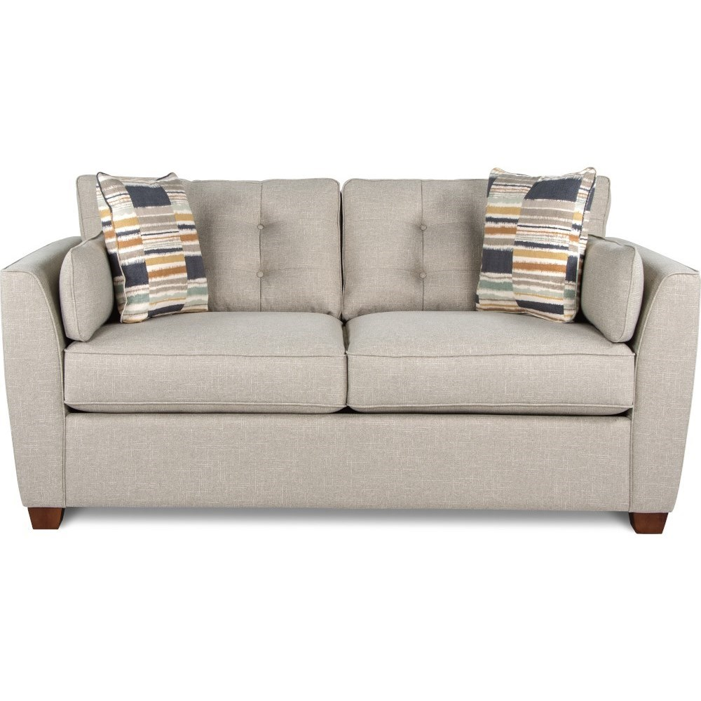 La Z Boy Dillon Casual Full Sleeper Sofa with Supreme ...