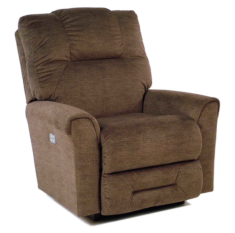 La z boy camden casual power recline xr reclina rocker for Easton 2 motor massage heat rocker recliner