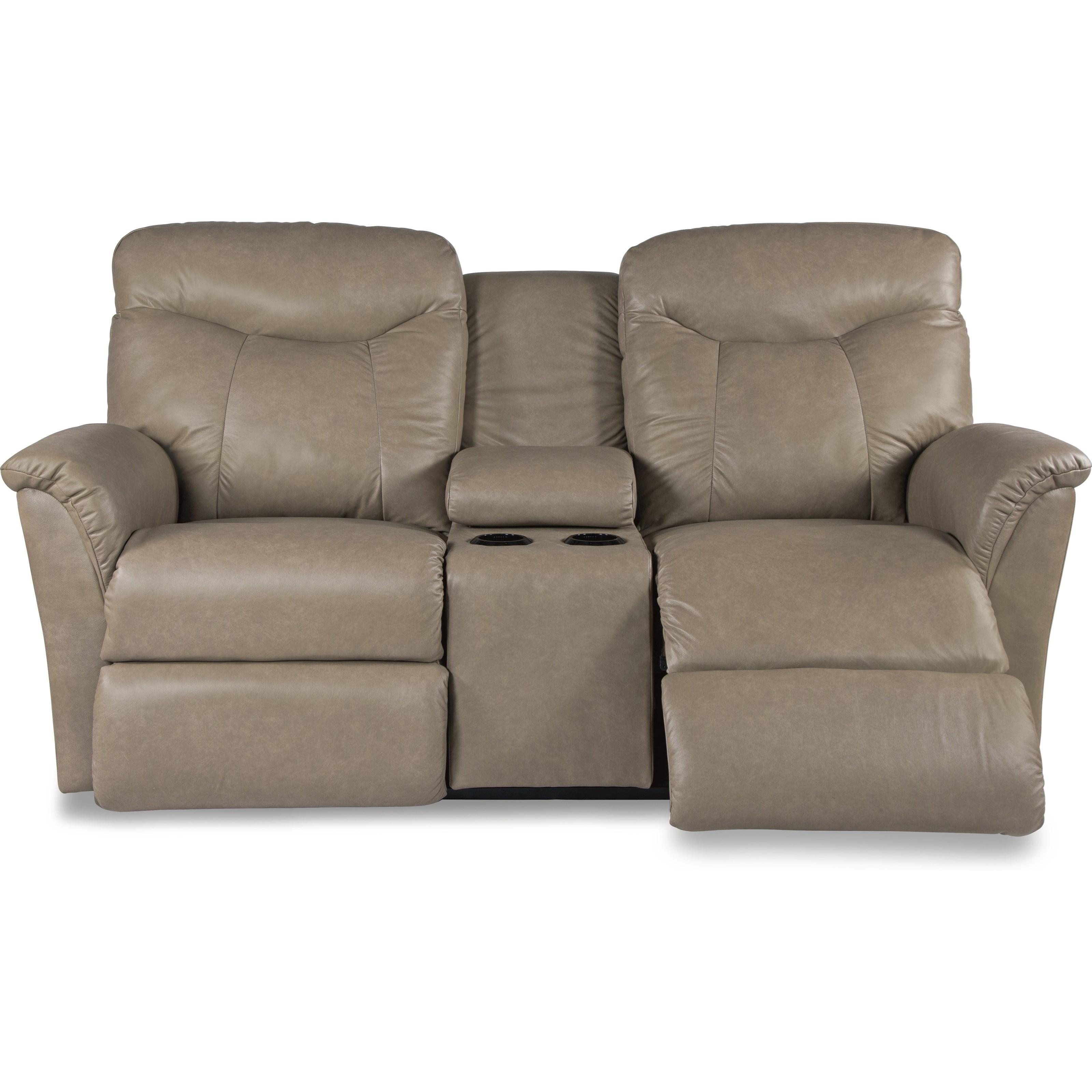 seats la z boy fortune la z time full reclining loveseat w console
