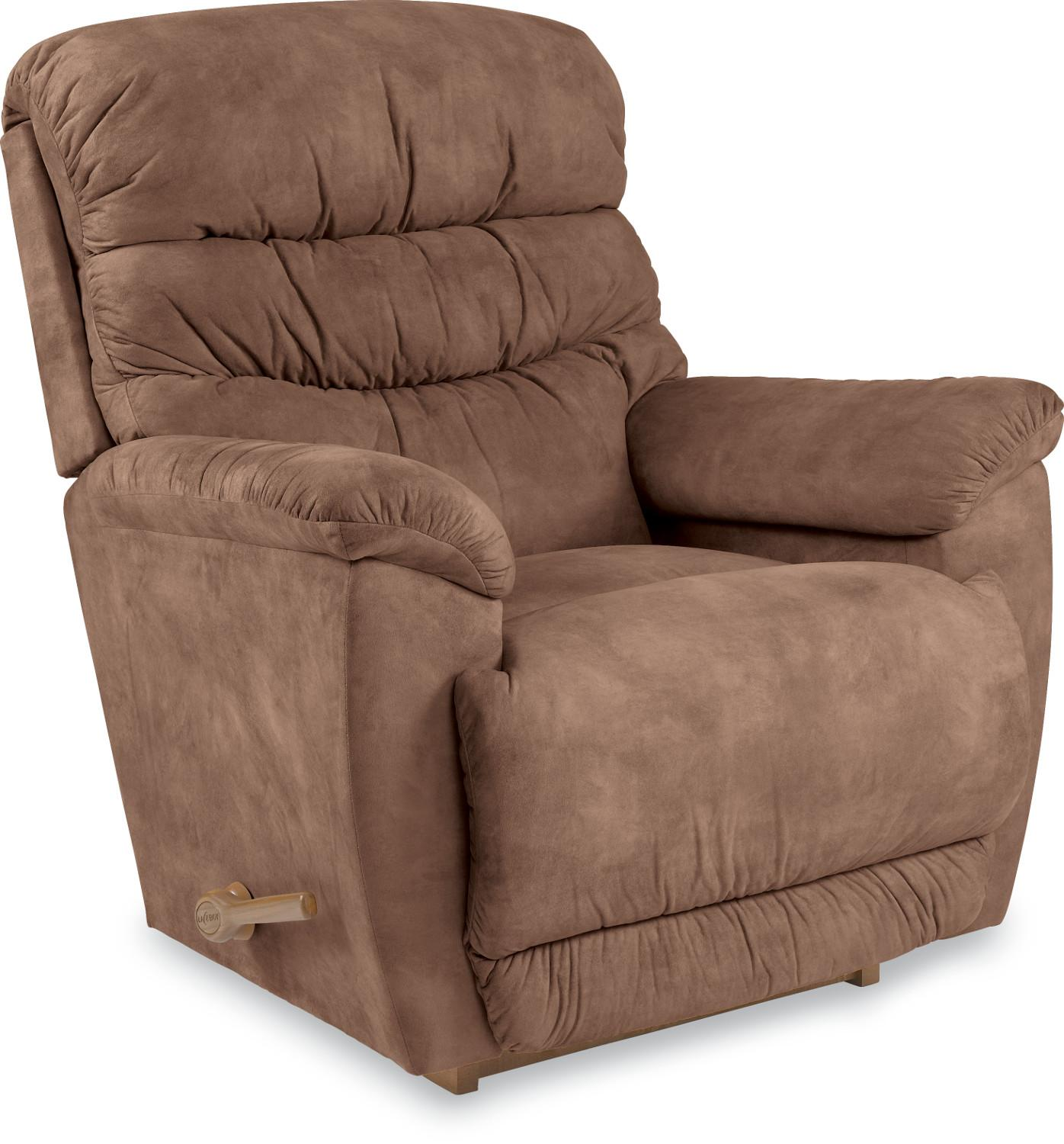 Recliners Joshua Reclina Rocker® Reclining Chair By La Z Boy Wolf . Full resolution  snapshot, nominally Width 1396 Height 1500 pixels, snapshot with #3D251A.