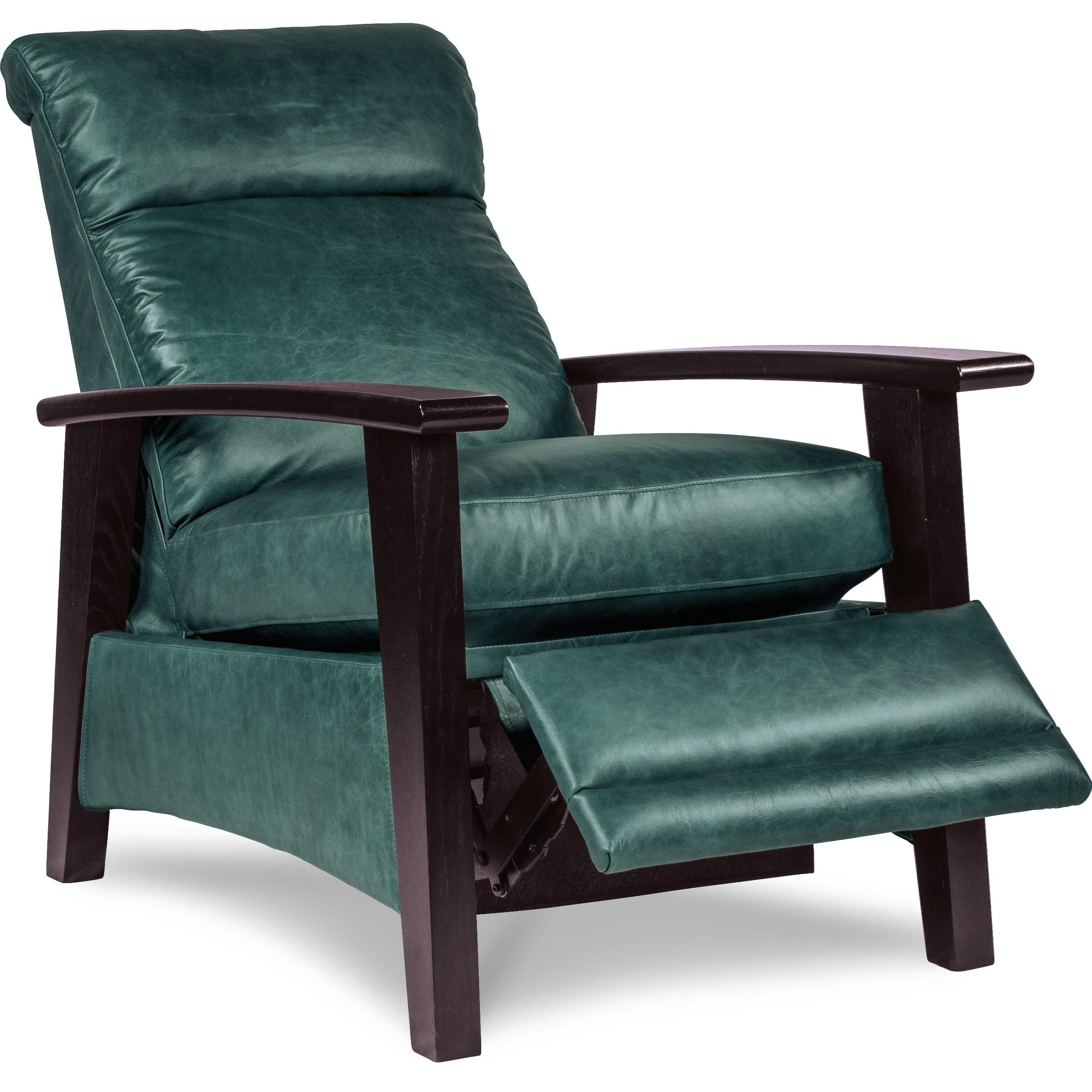 La z boy recliners nouveau modern recliner with wood arms
