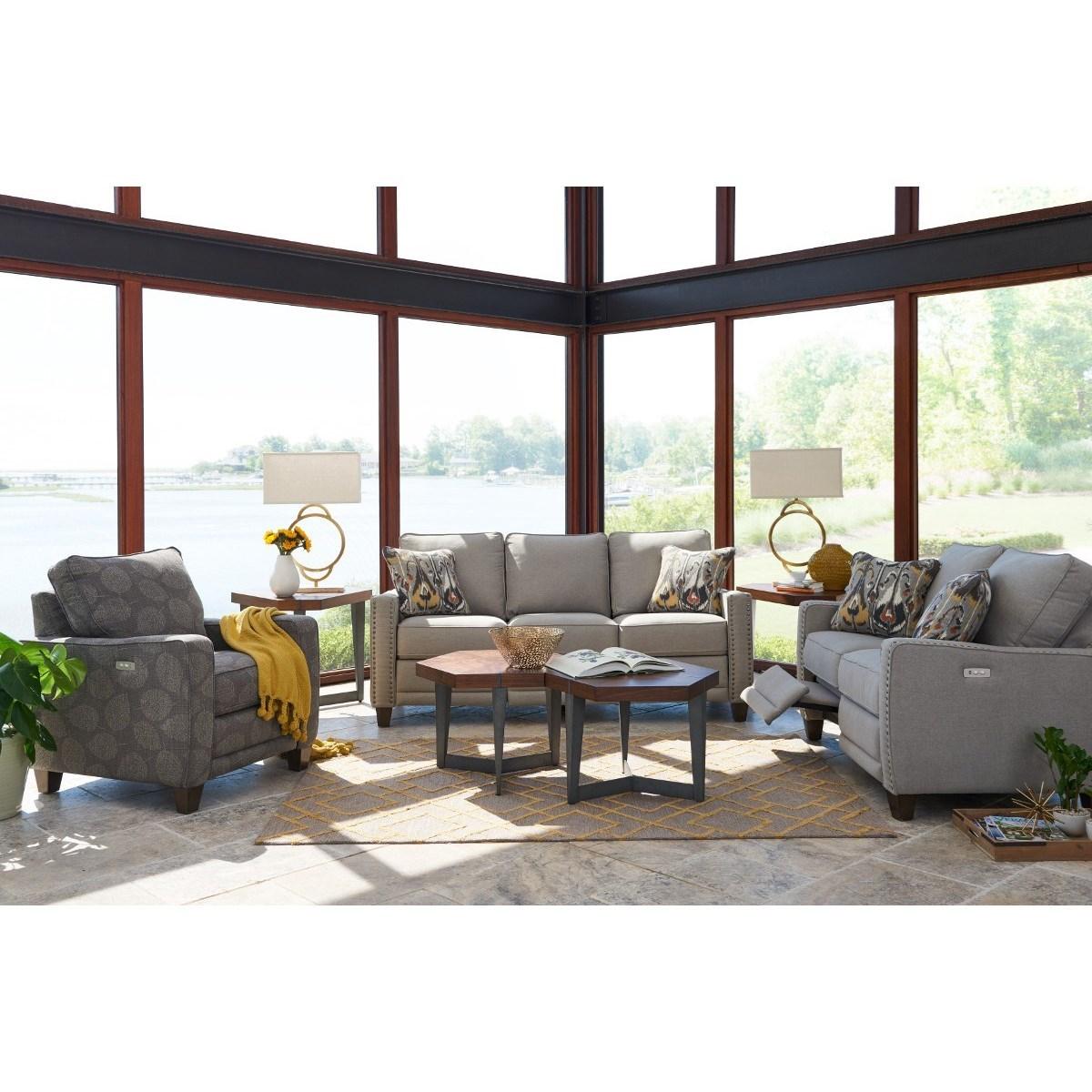 La Z Boy Makenna Reclining Living Room Group Reid 39 S Furniture Reclining Living Room Groups