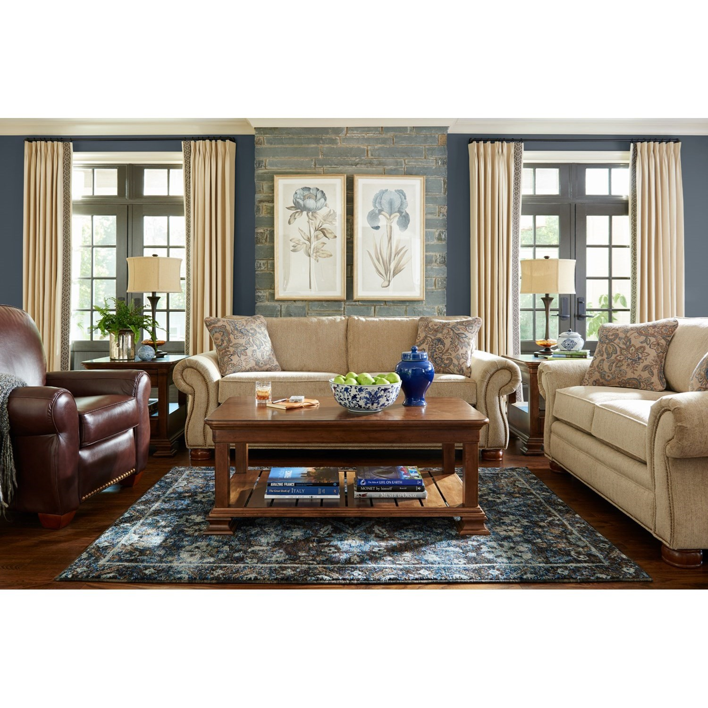 La Z Boy Pembroke Living Room Group Gill Brothers Furniture Stationary Living Room Groups