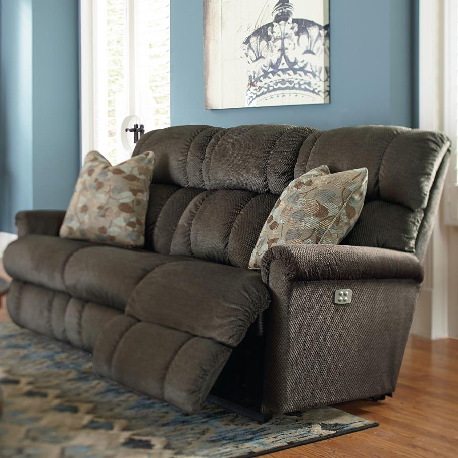 La z boy pinnacle power recline xrw full reclining sofa conlin 39 s furniture reclining sofas - Sofa reclinable ...