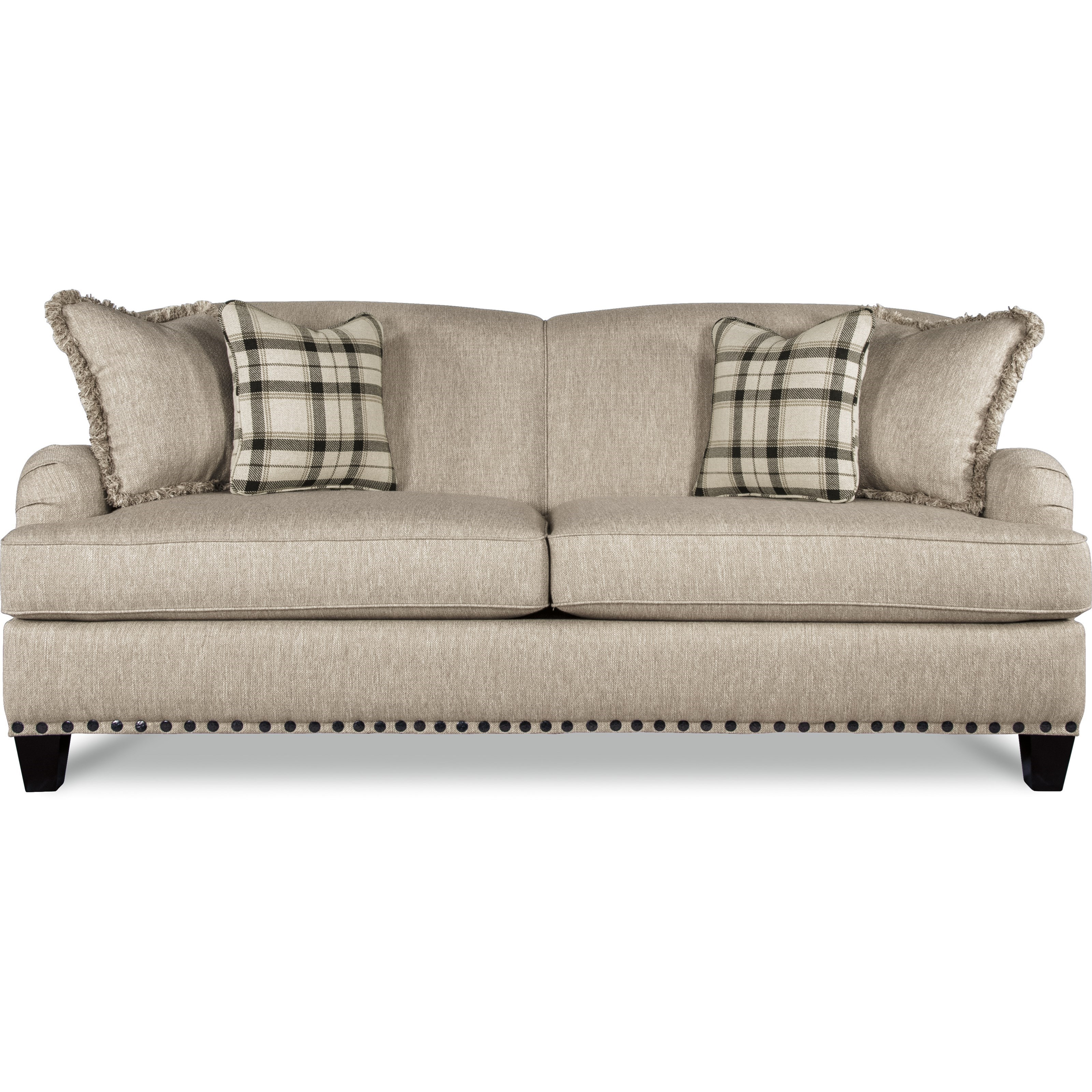 La z boy york traditional sofa with premier comfortcore cushions bennett 39 s home furnishings - Sofa york ...