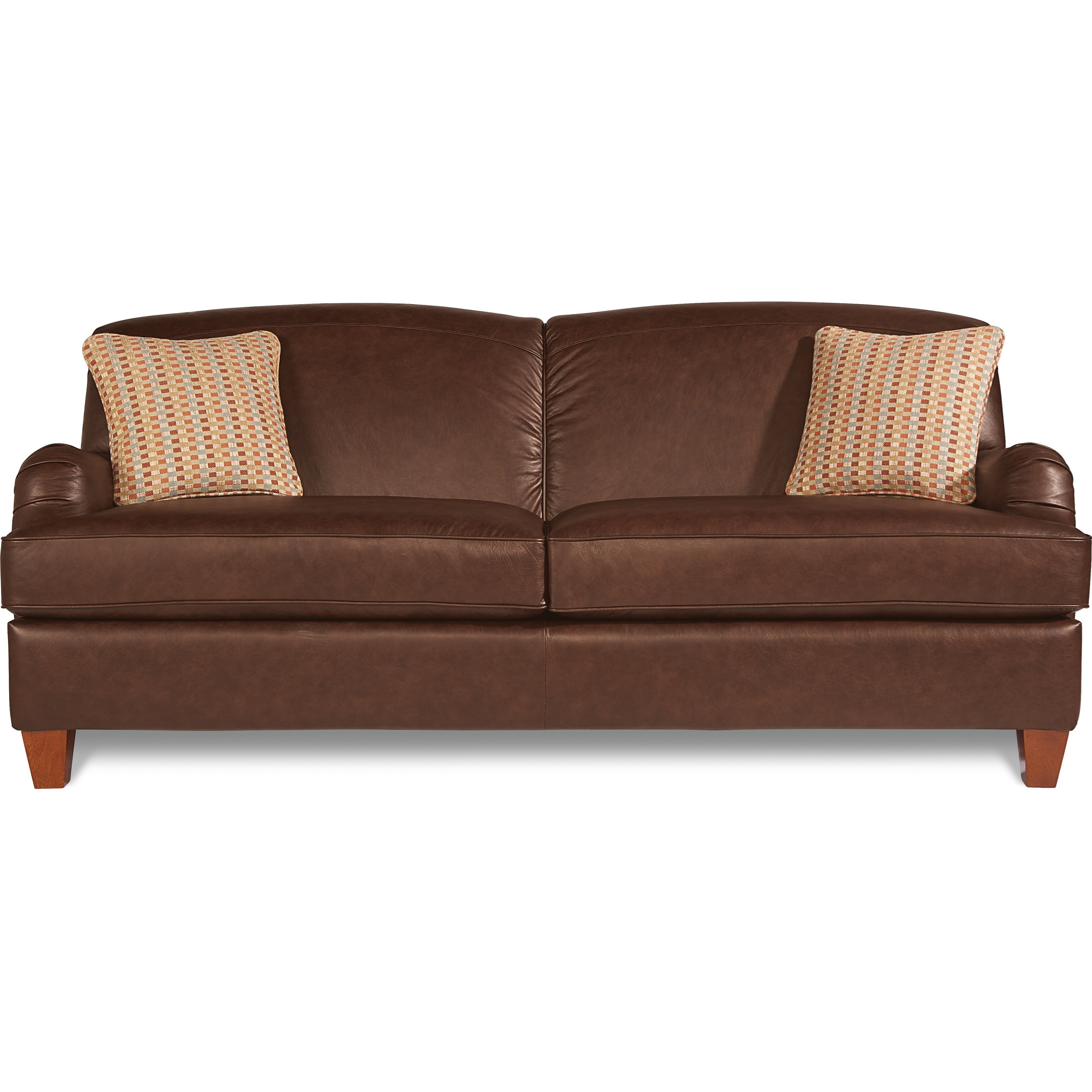 La z boy york 610656 traditional sofa with premier comfortcore cushions gill brothers - Sofa york ...