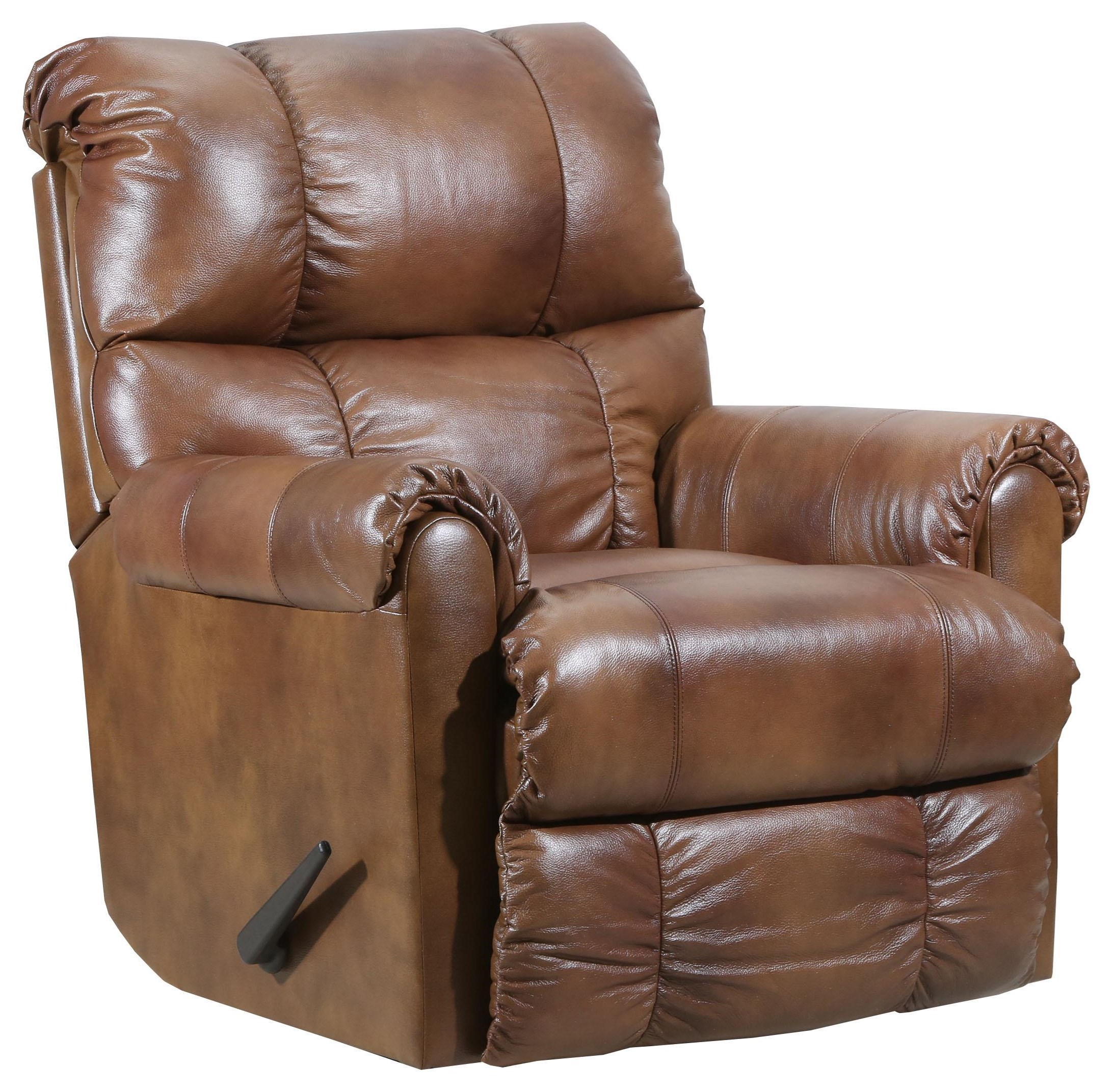 Recliners 2019 Soft Touch Leather Rocker Recliner