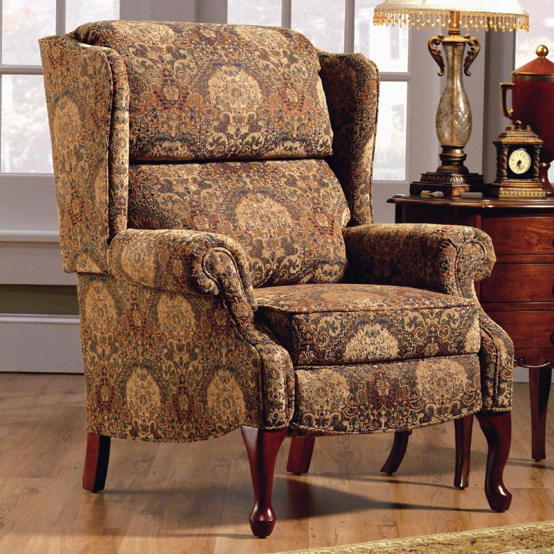 Lane hi leg recliners 2528 traditional savannah hileg for Traditional sofas with legs