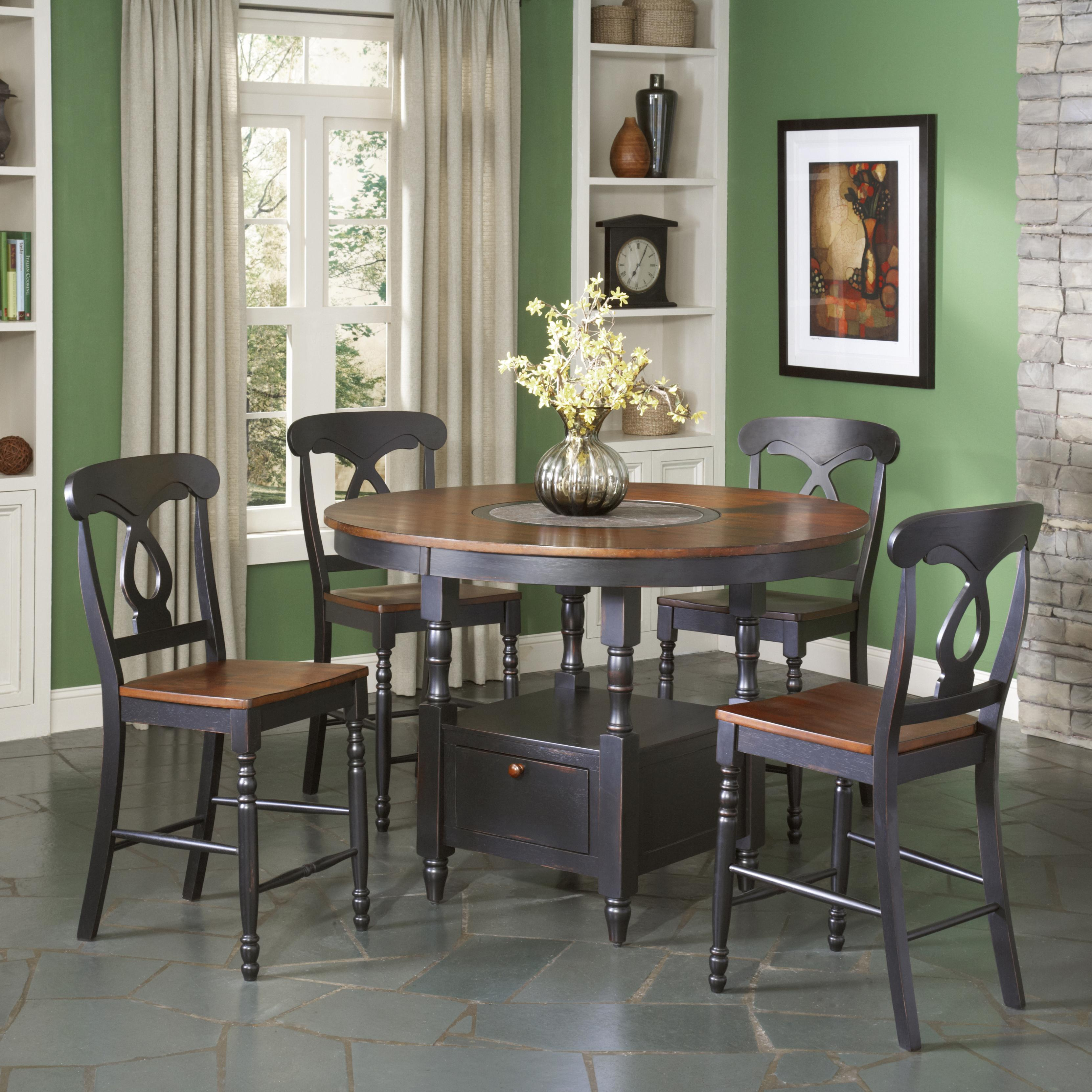 Largo phillip 5 piece counter height table set olinde 39 s for Dining room tables knoxville tn