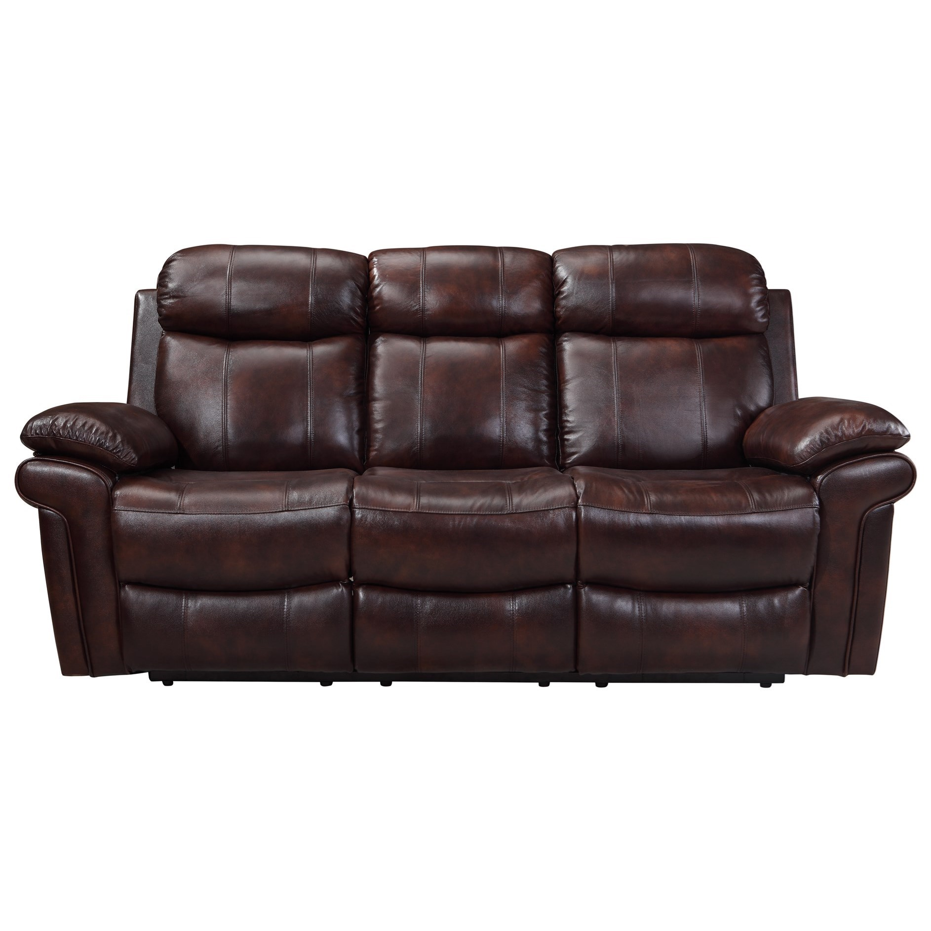 Leather italia usa shae joplin power reclining leather Living room furniture reclining sofa