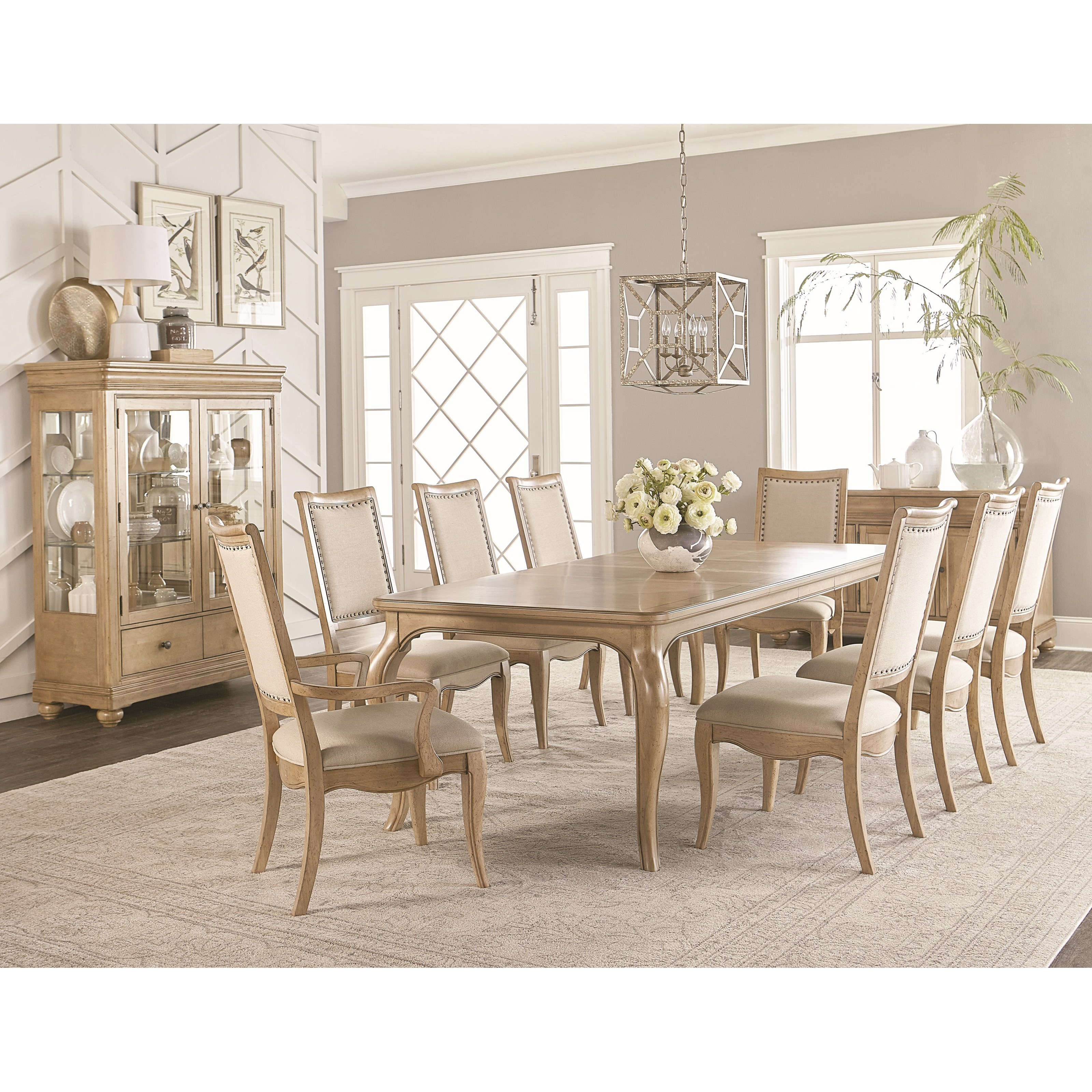 Legacy classic ashby woods dining room group belfort for Legacy classic dining room furniture