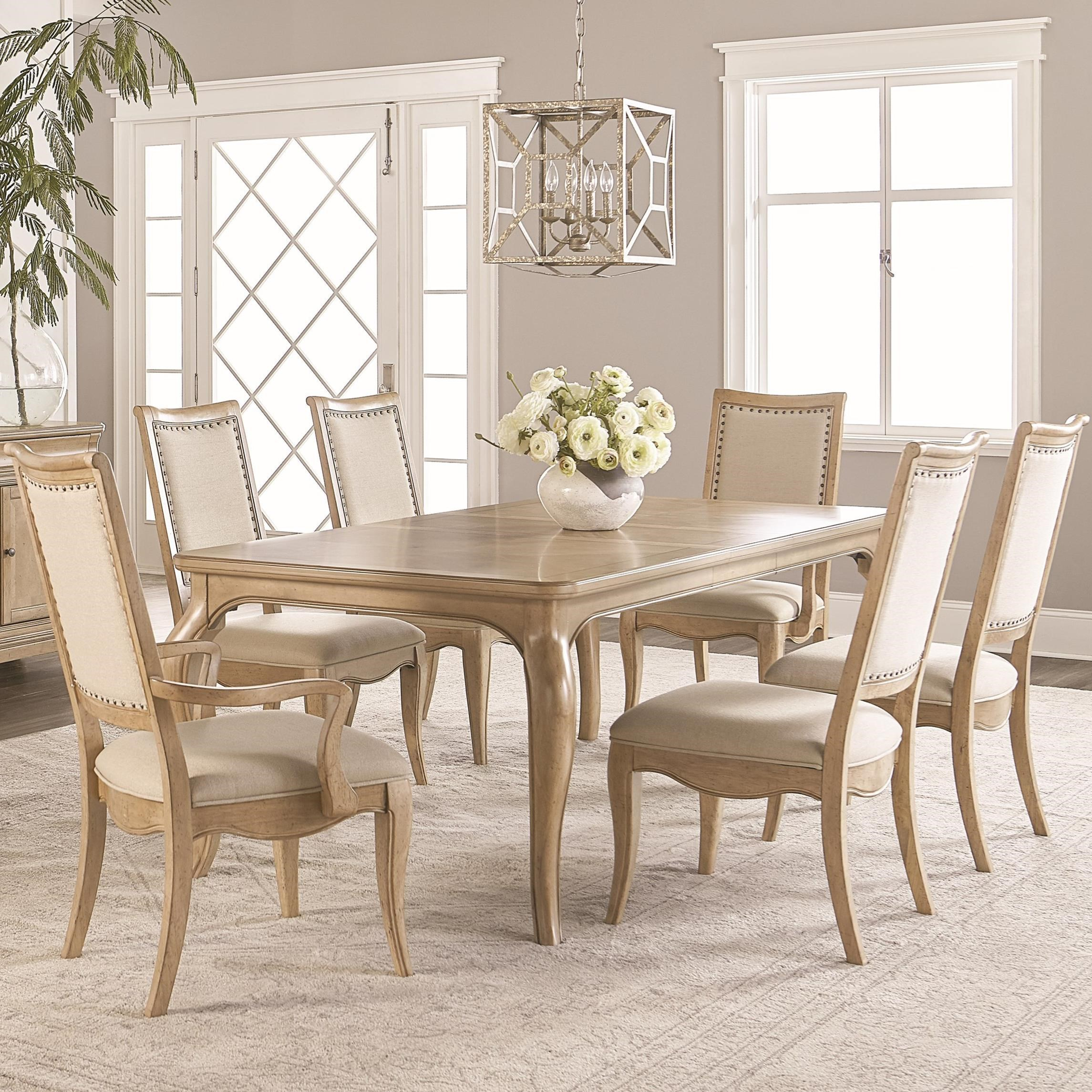 Legacy classic ashby woods 7 piece dining table and chair for Legacy classic dining table