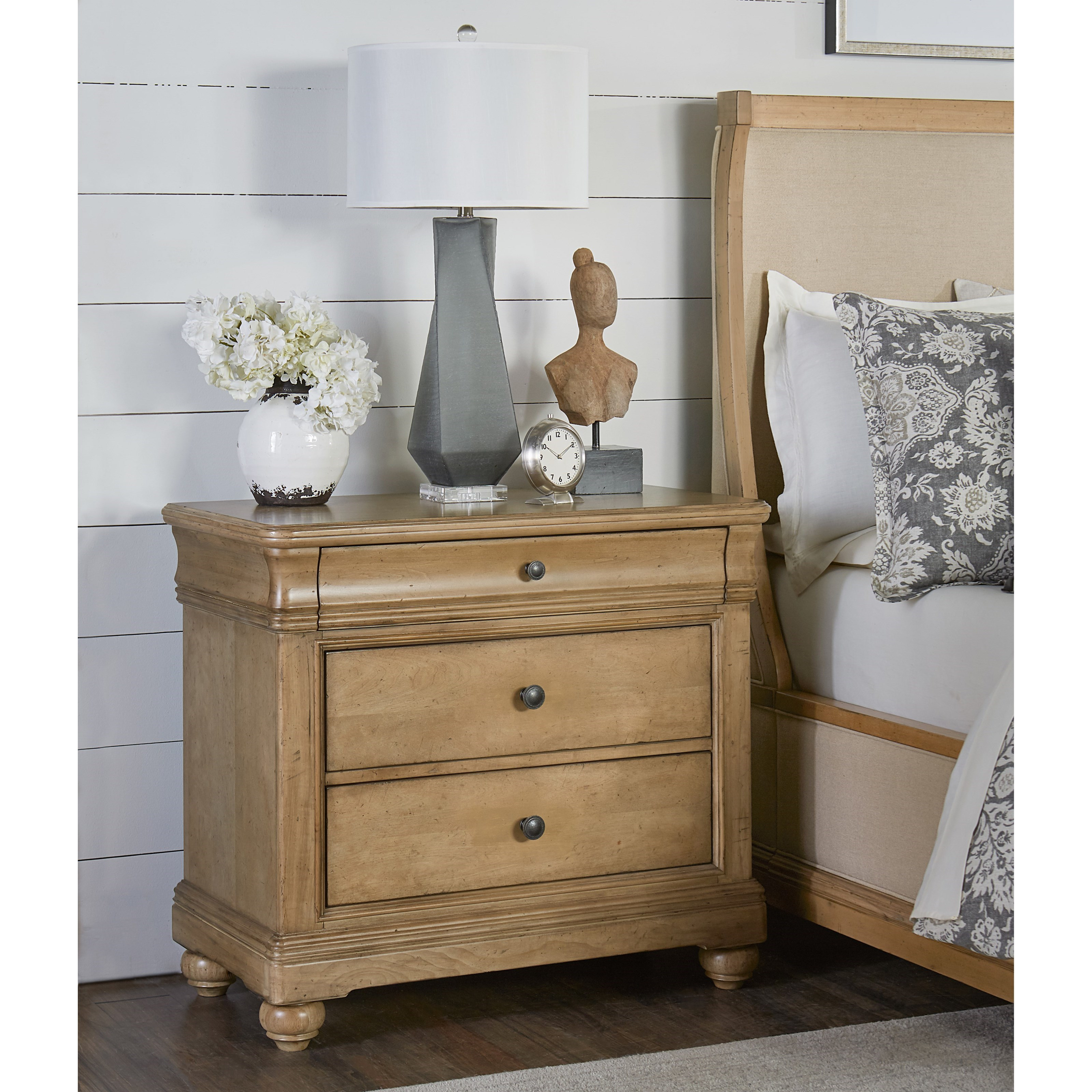 Legacy Classic Ashby Woods 3 Drawer Bedside Chest With