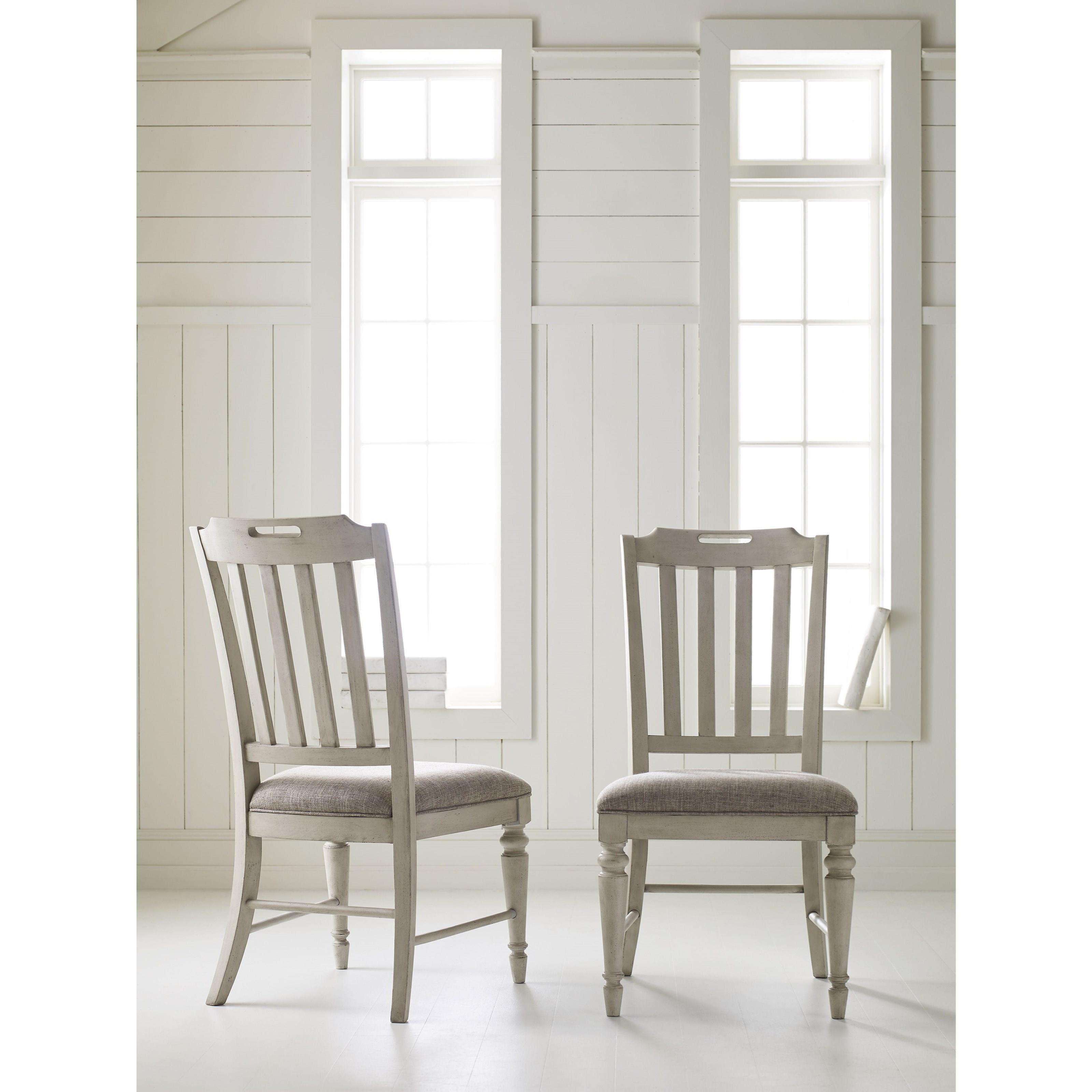 Legacy Classic Brookhaven 6400 140 Kd Slat Back Side Chair