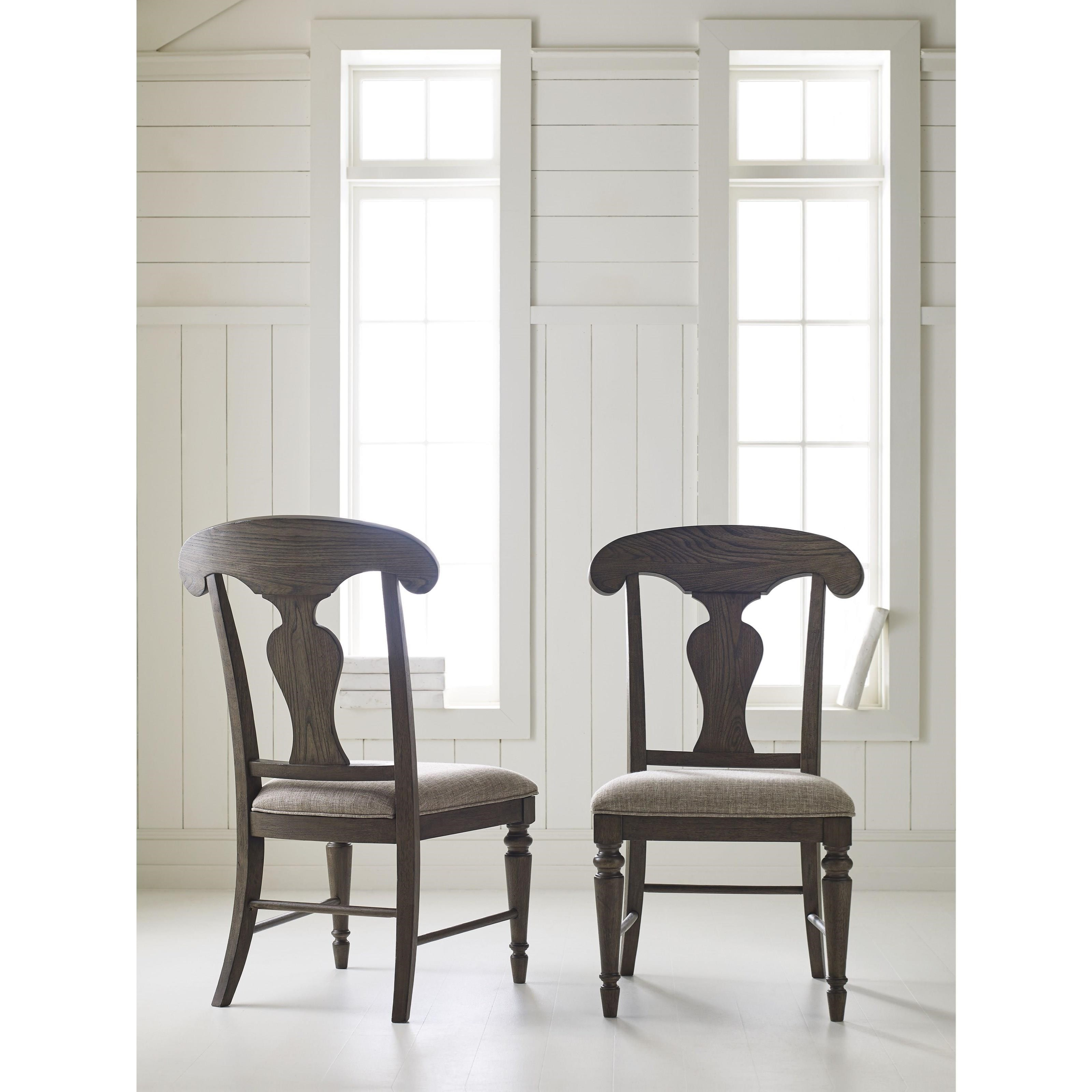 Legacy classic brookhaven 6400 240 kd splat back side for Legacy classic dining room furniture