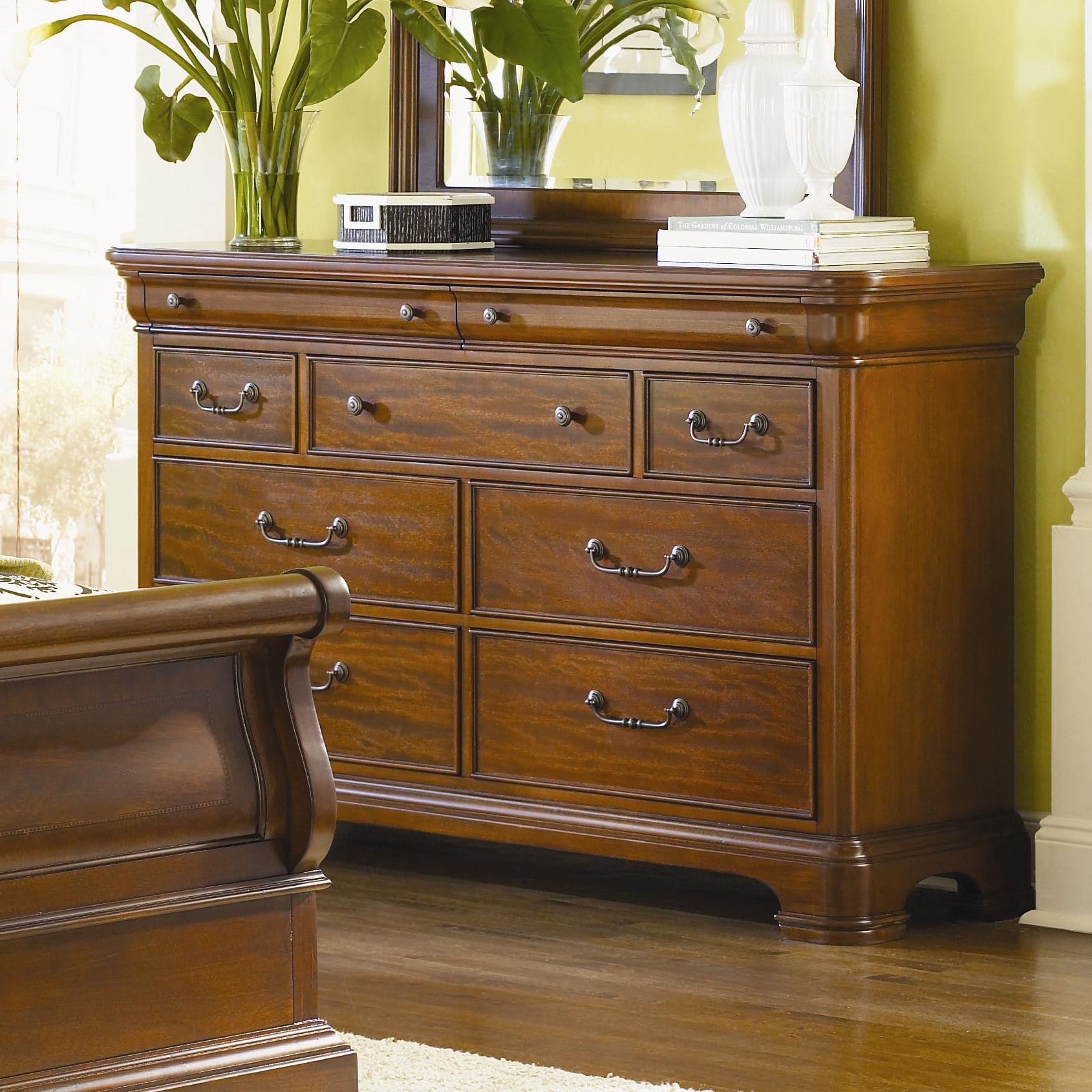... Classic Evolution 9 Drawer Dresser - Suburban Furniture - Dressers