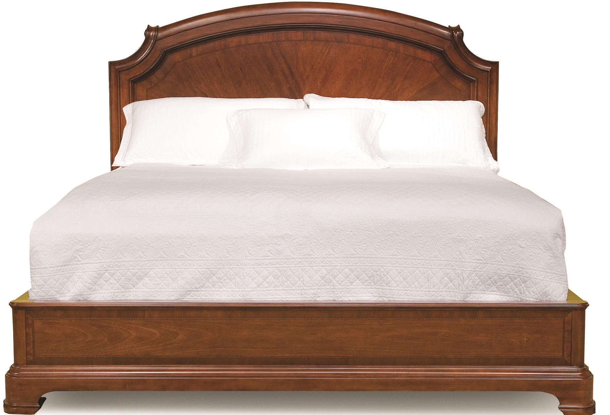 legacy classic evolution king size scroll top platform bed. Black Bedroom Furniture Sets. Home Design Ideas