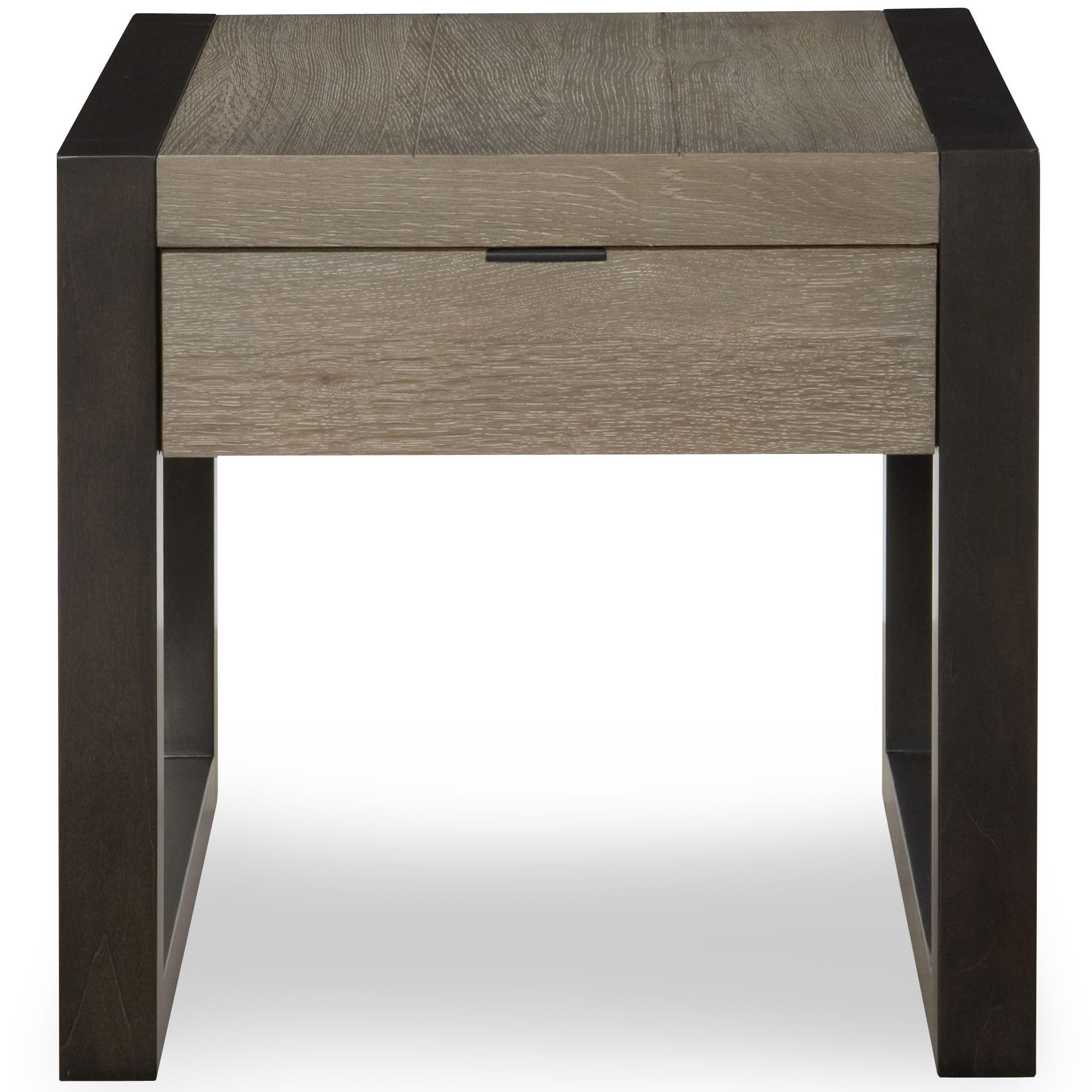 Legacy classic helix 4660 505 end table with drawer dunk for Bright colored side tables