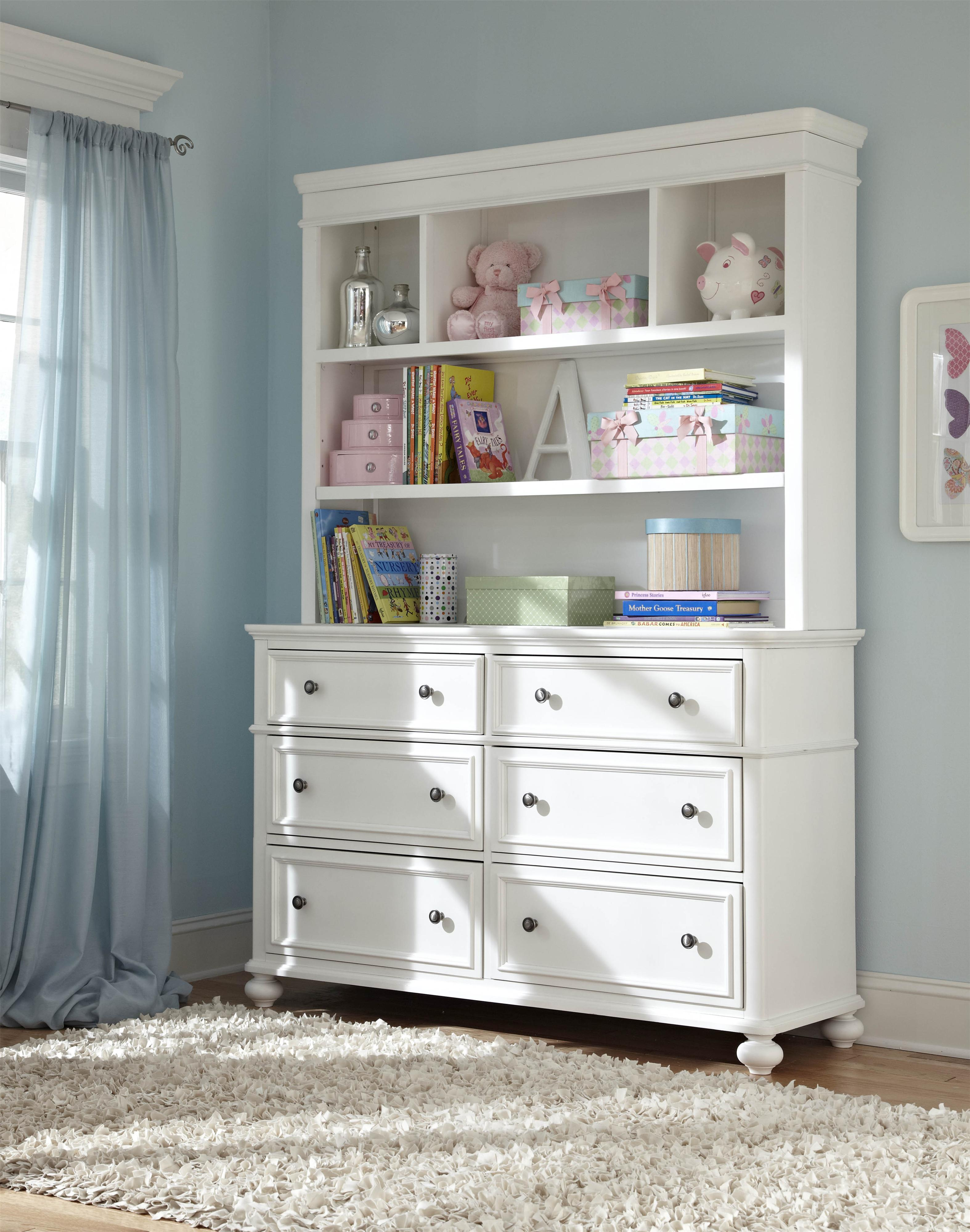 Legacy classic kids madison classic dresser with 6 drawers for Ikea bookcase with drawers