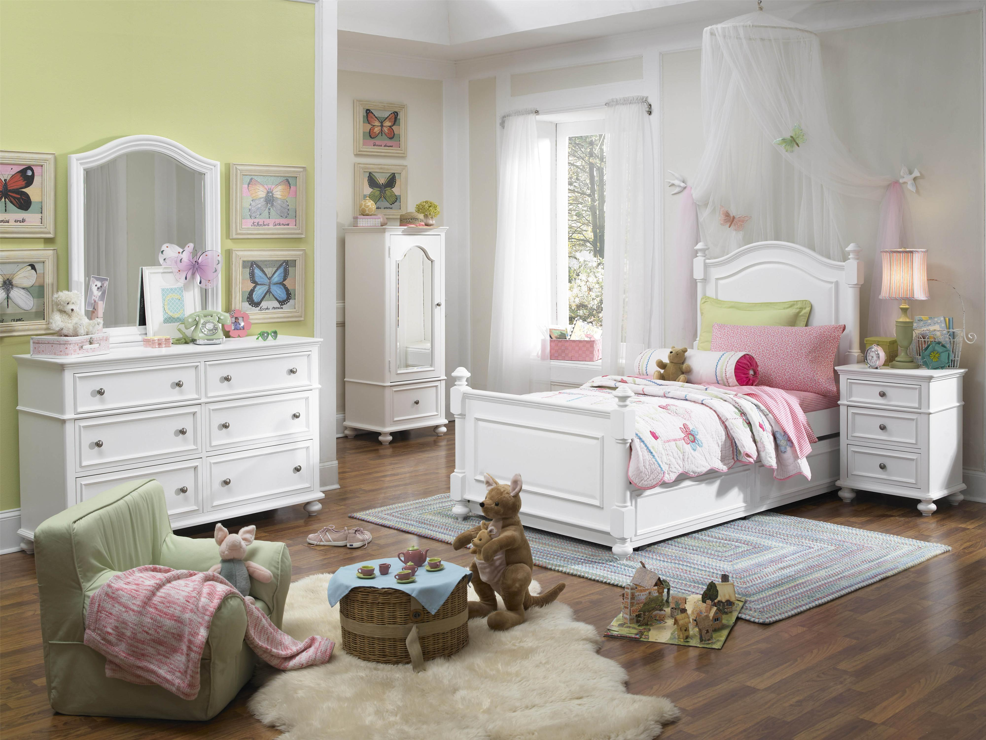 Legacy Classic Kids Madison Classic Nightstand With 3 Drawers Belfort Furniture Night Stand