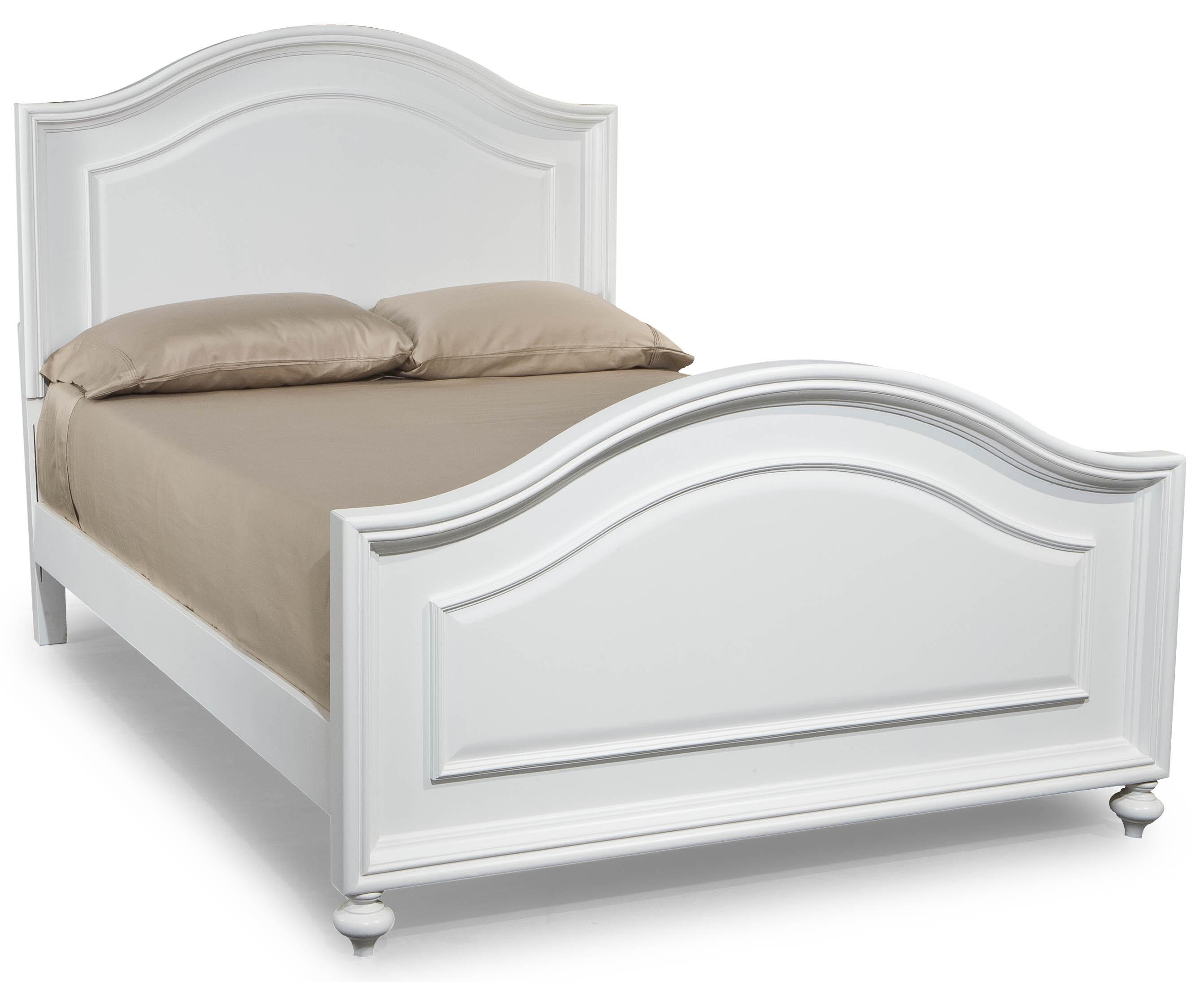 Legacy classic kids madison full size panel bed with for Full size footboard